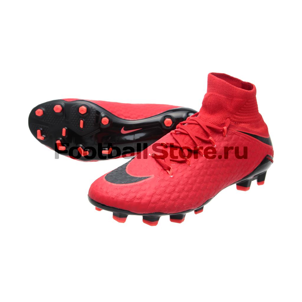 Бутсы Nike Hypervenom Phatal III DF FG 852554-616 бутсы nike jr mercurial vortex iii njr fg 921490 407