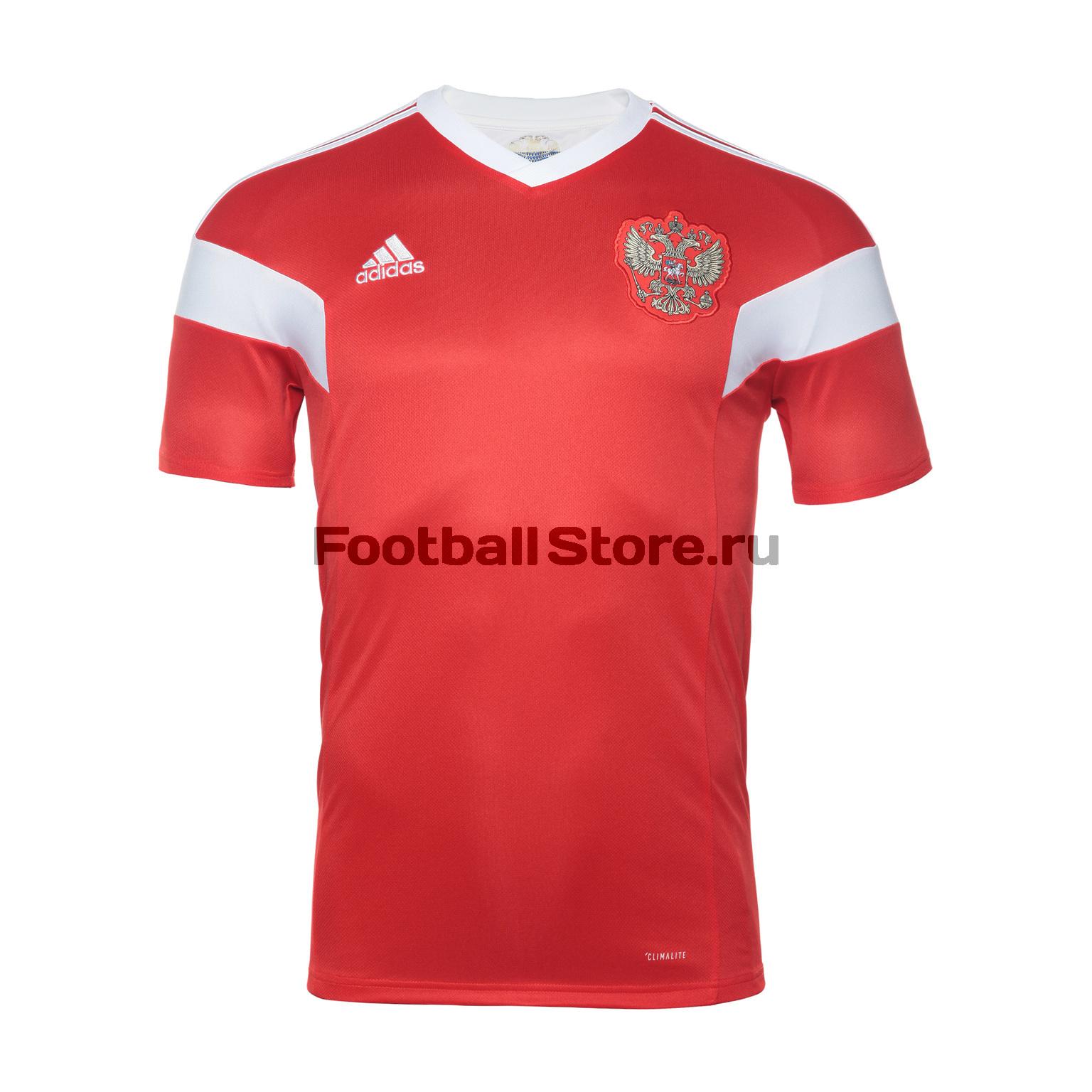 Домашняя футболка Adidas сборной России BR9055