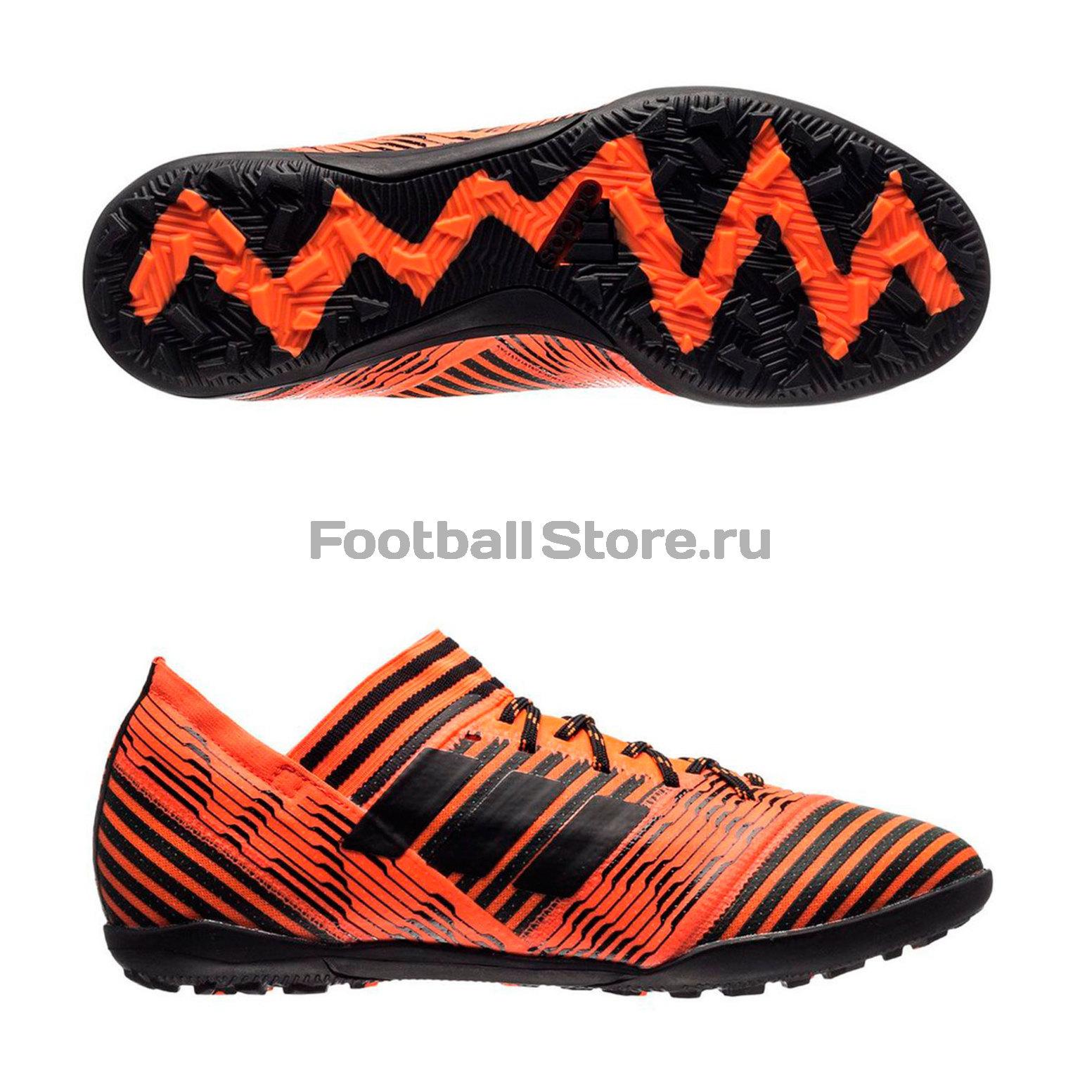 Шиповки Adidas Nemeziz Tango 17.3 TF JR BY2829 обувь для зала adidas nemeziz tango 17 3 in jr cp9182