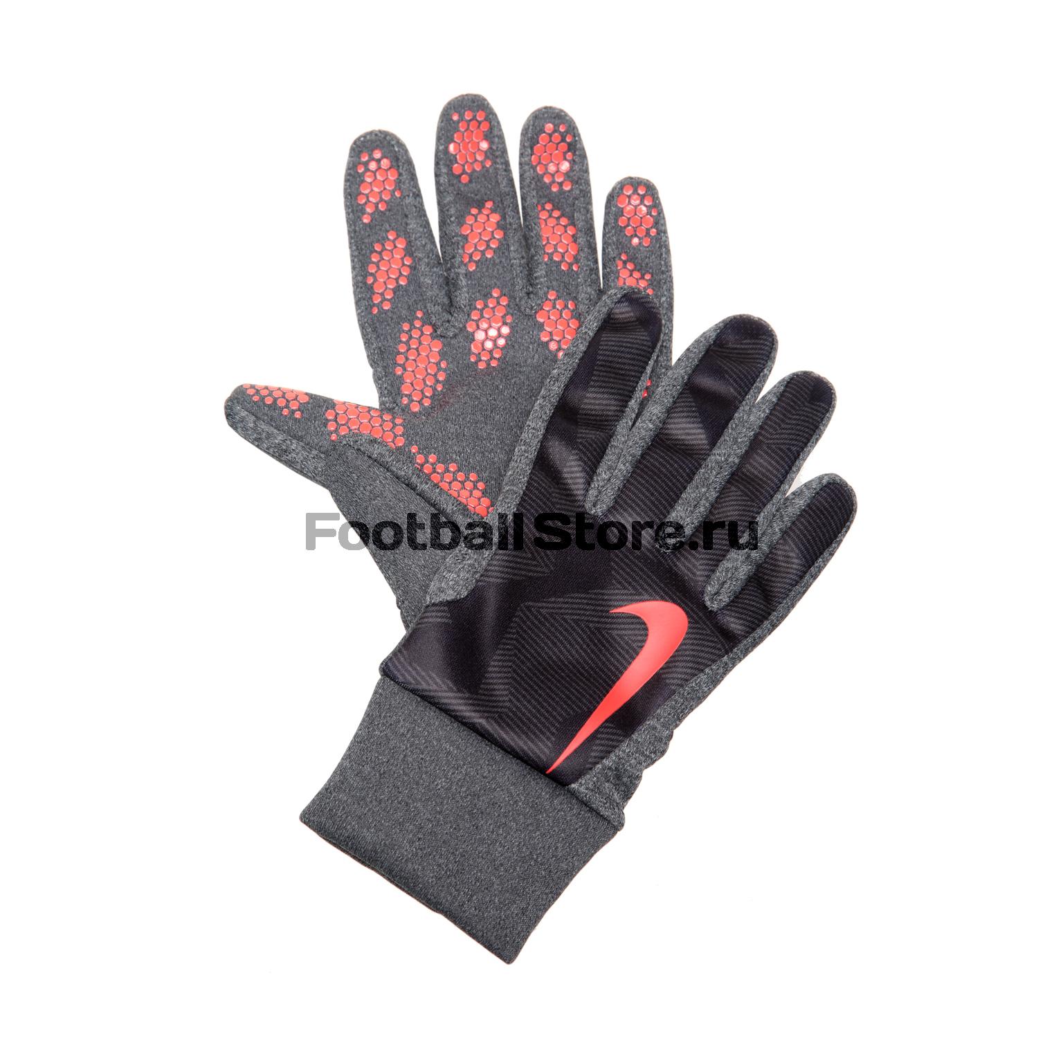 Аксессуары Nike Детские тренировочные перчатки Nike HyperWarm GS0322-011 детские аксессуары