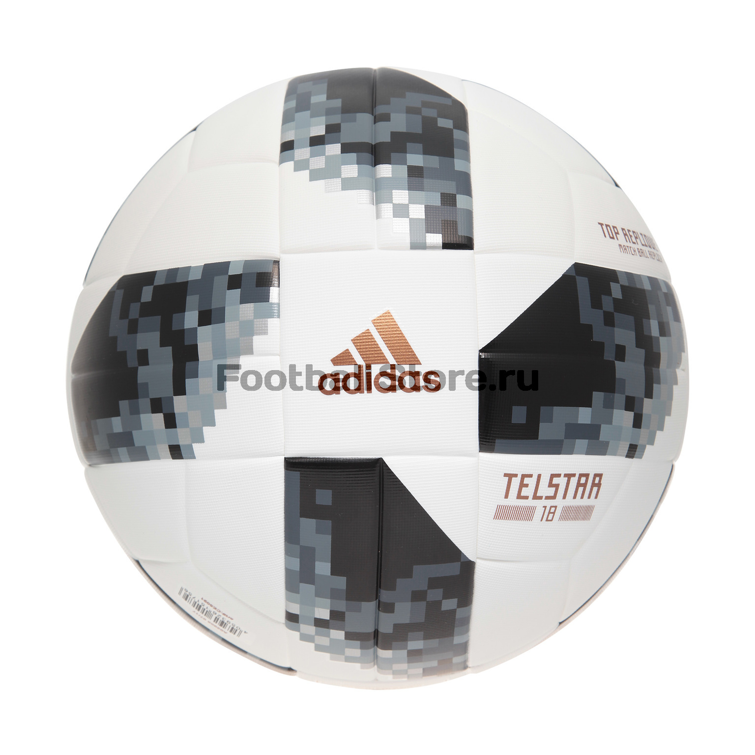 Мяч Adidas Top Replica Telstar ЧМ-2018 CE8091 литой диск replica legeartis concept ns512 6 5x16 5x114 3 et40 d66 1 bkf
