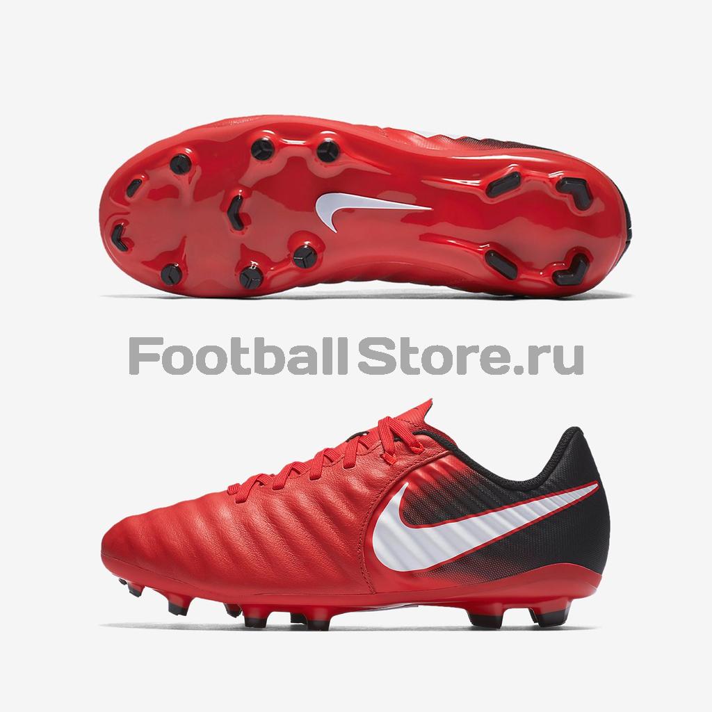 Бутсы Nike Бутсы Nike JR Tiempo Ligera IV FG 897725-616 бутсы nike nike ni464amjff16