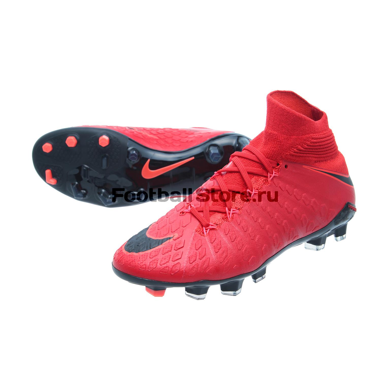 Детские бутсы Nike Бутсы Nike JR Hypervenom Phantom 3 DF FG 882087-616 бутсы зальные nike nike ni464amhbs90