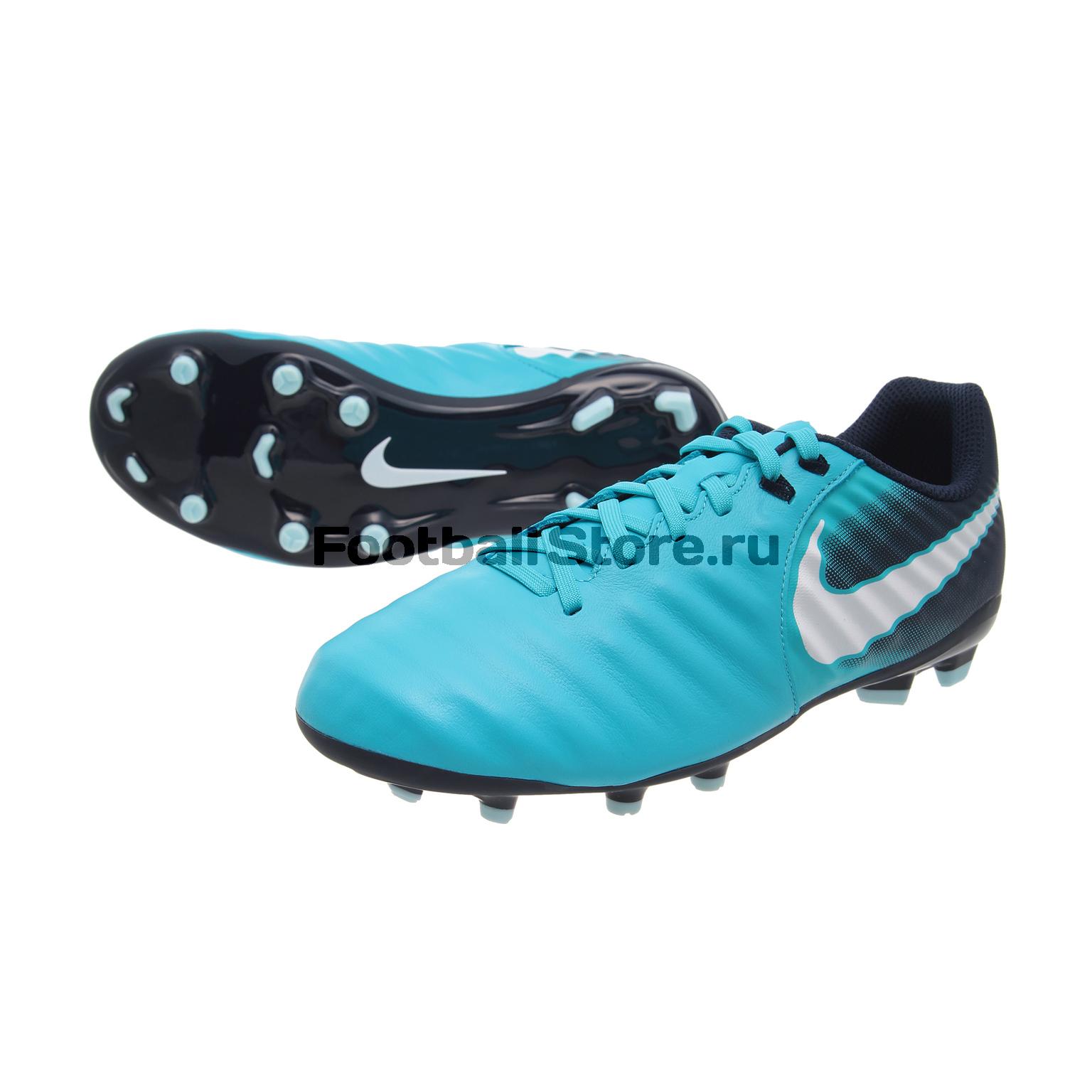 Бутсы Nike Бутсы Nike JR Tiempo Ligera IV FG 897725-414 бутсы nike nike ni464amjff16