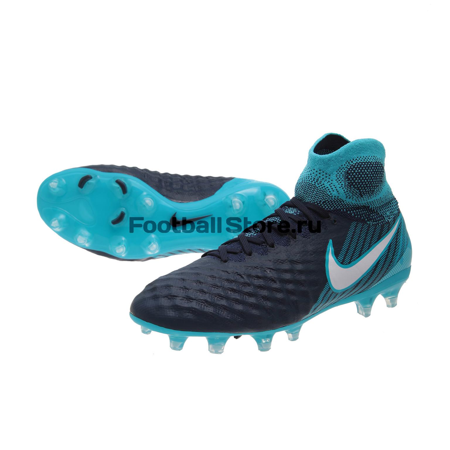 Детские бутсы Nike Бутсы Nike Magista Obra II FG JR 844410-414