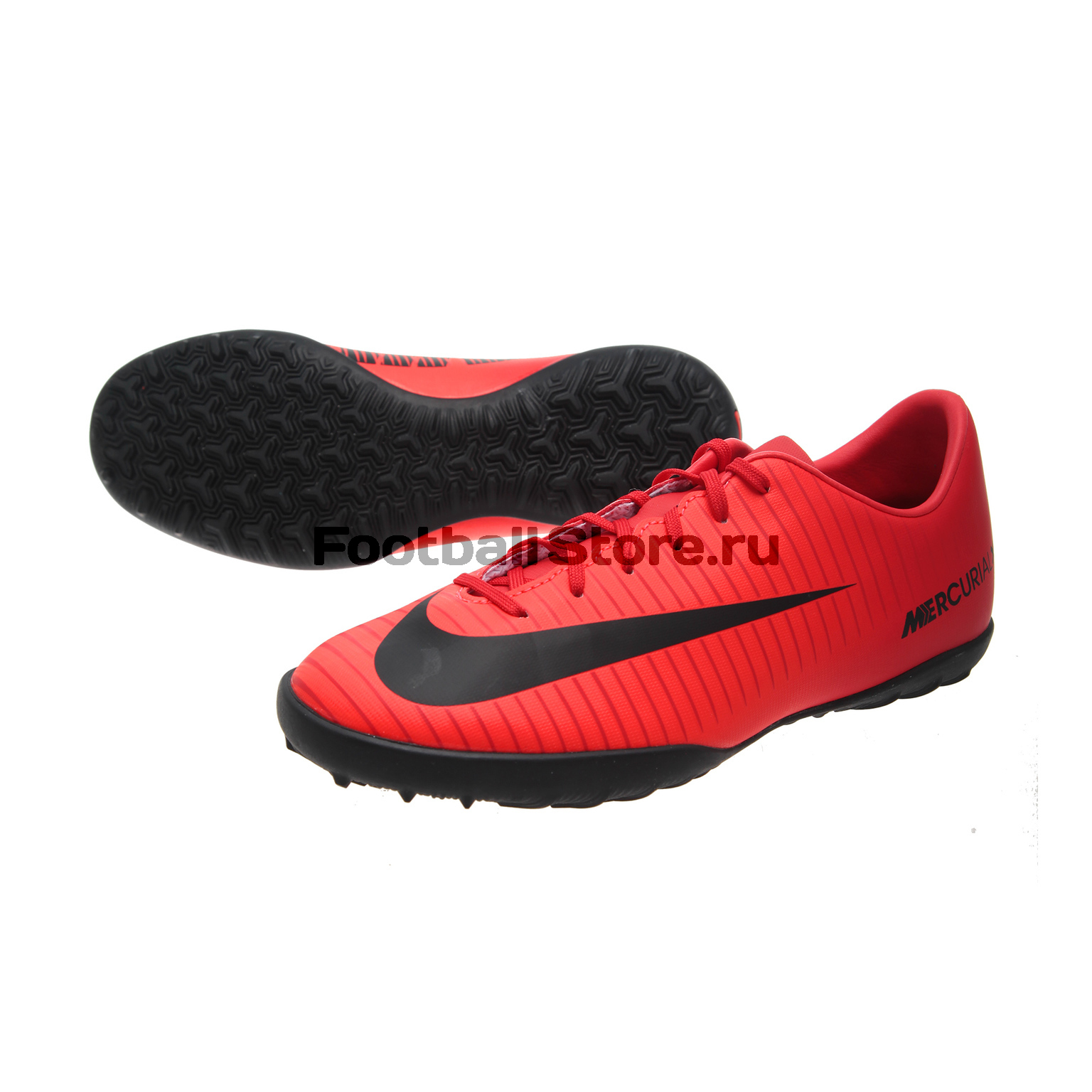 Детские бутсы Nike Шиповки Nike JR Mercurial X Vapor TF 831949-616 спортинвентарь nike чехол для iphone 6 на руку nike vapor flash arm band 2 0 n rn 50 078 os
