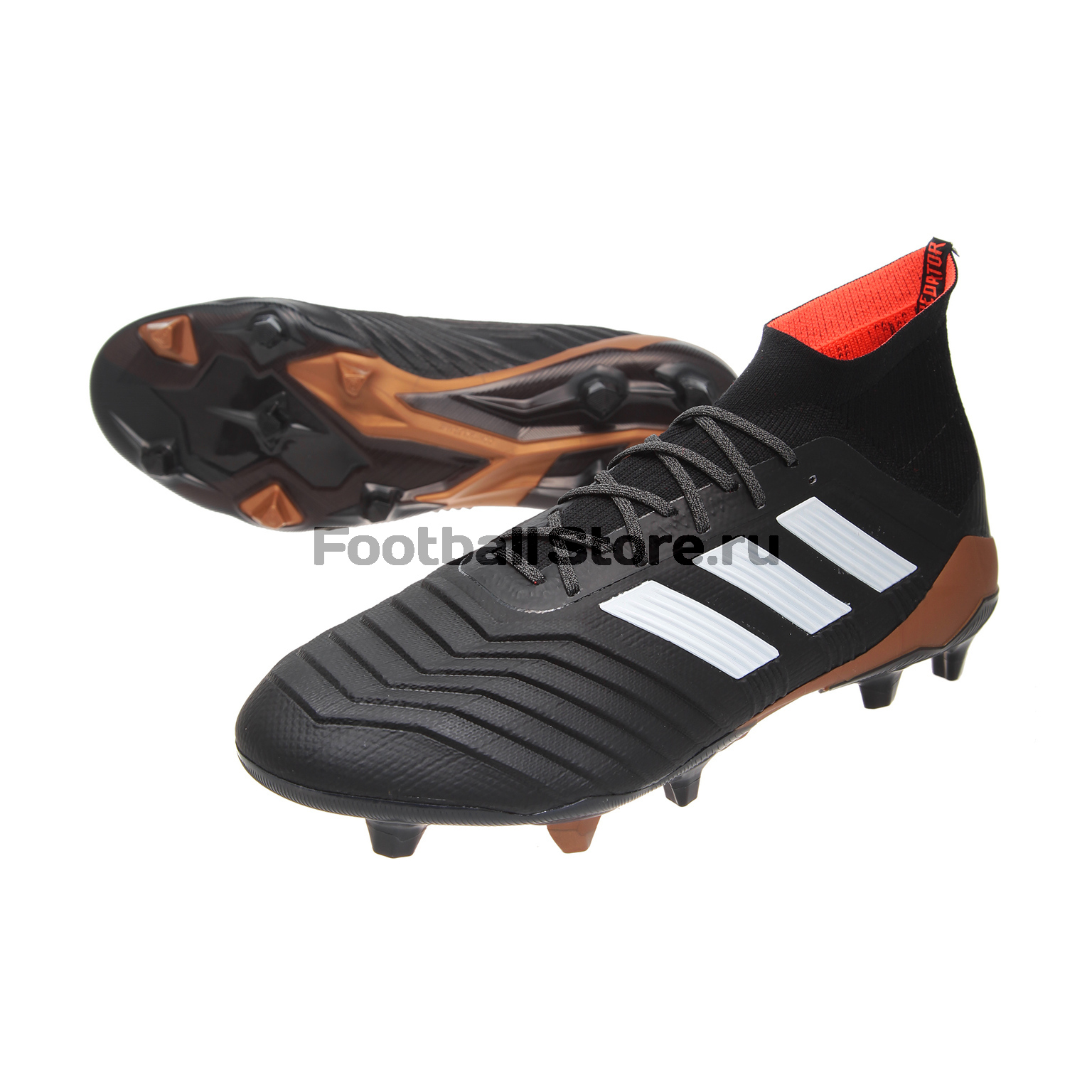 Бутсы Adidas Predator 18.1 FG BB6354 игровые бутсы adidas бутсы adidas ace 17 1 fg by2459