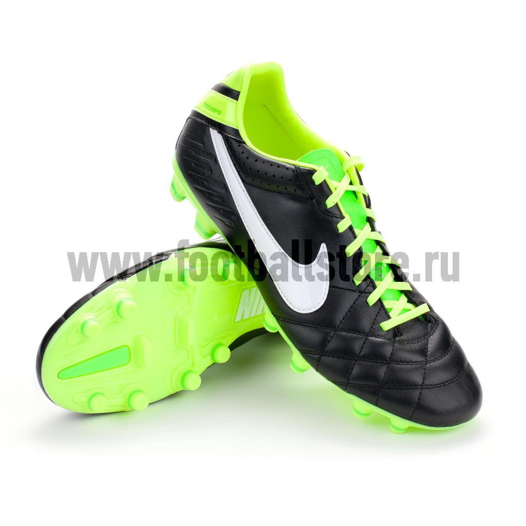 Игровые бутсы Nike Бутсы Nike Tiempo natural iv ltr fg