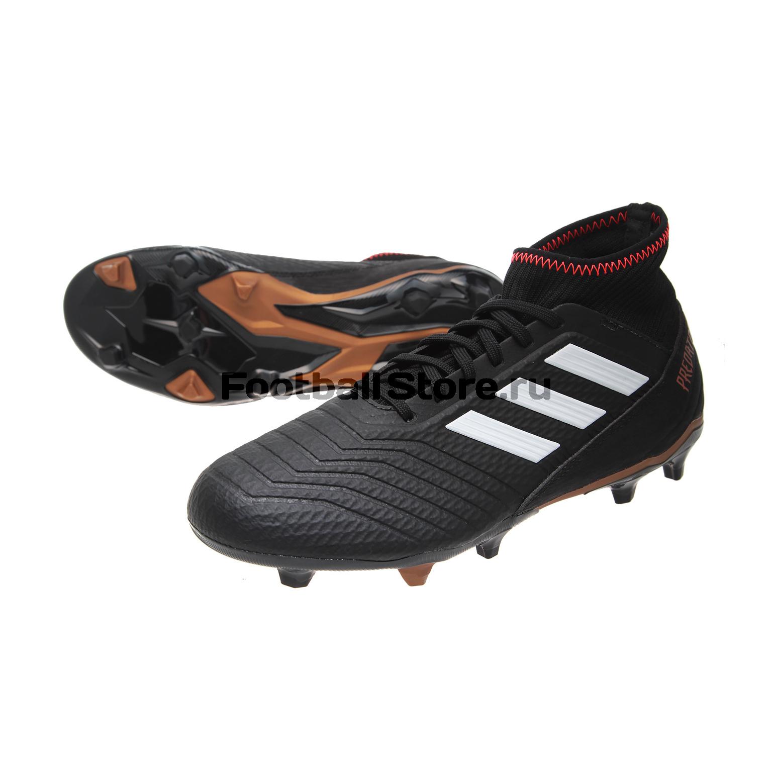 купить Игровые бутсы Adidas Бутсы Adidas Predator 18.3 FG CP9301 по цене 6390 рублей