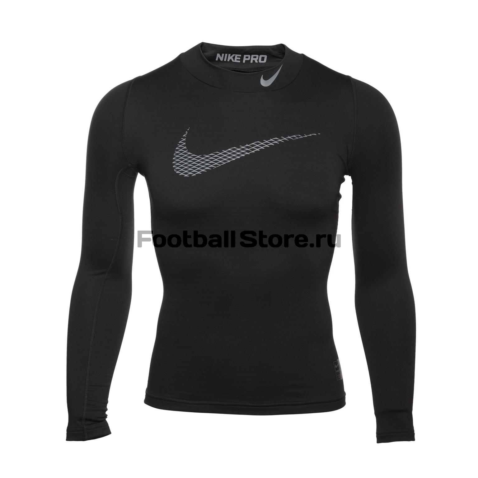 Белье футболка подростковая Nike Warm 856134-010 нижнее белье nike 654876 341 pro combat
