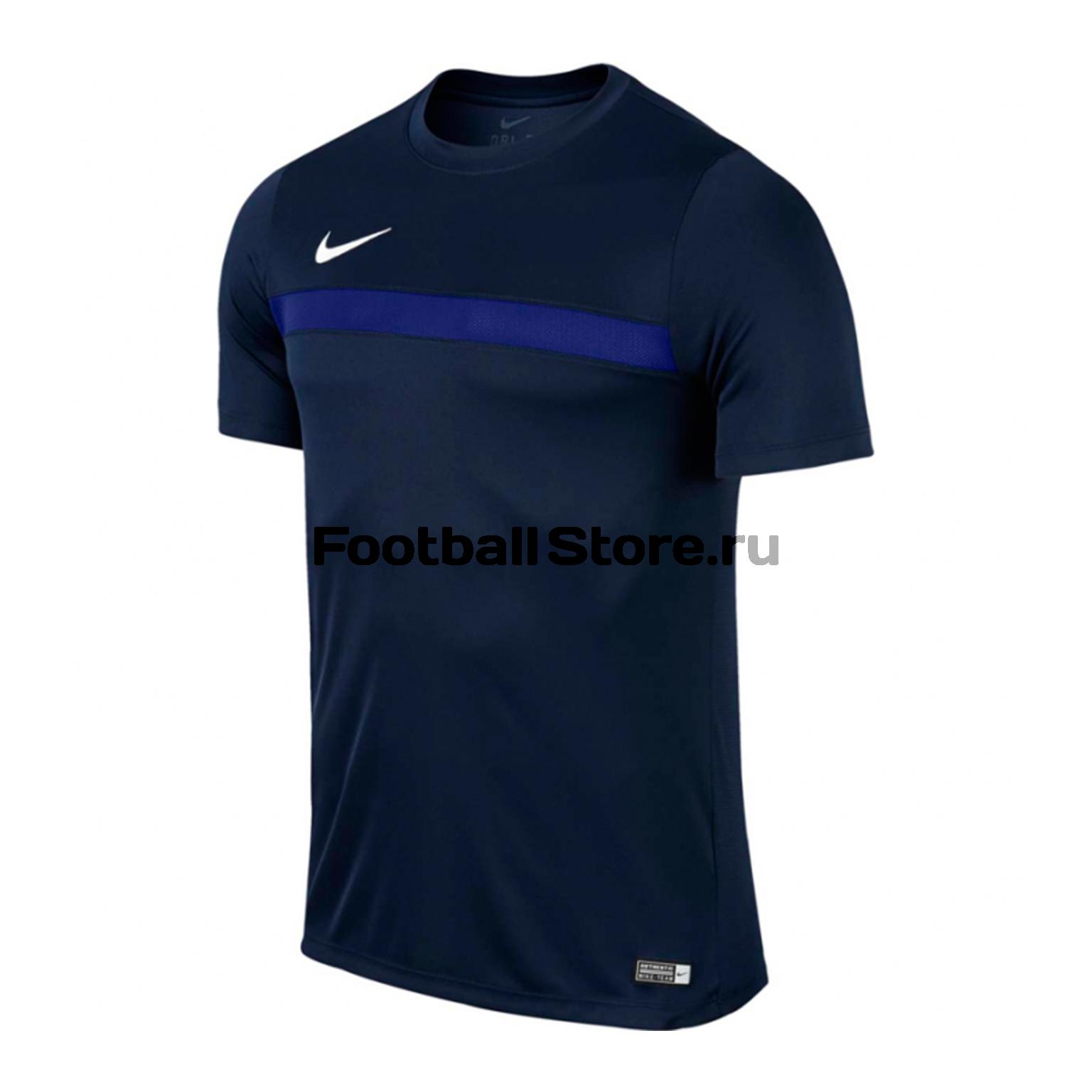 Футболка тренировочная Nike Academy SS Top JR 726008-451 nike футболка для мальчика nike df cool ss top yth nike