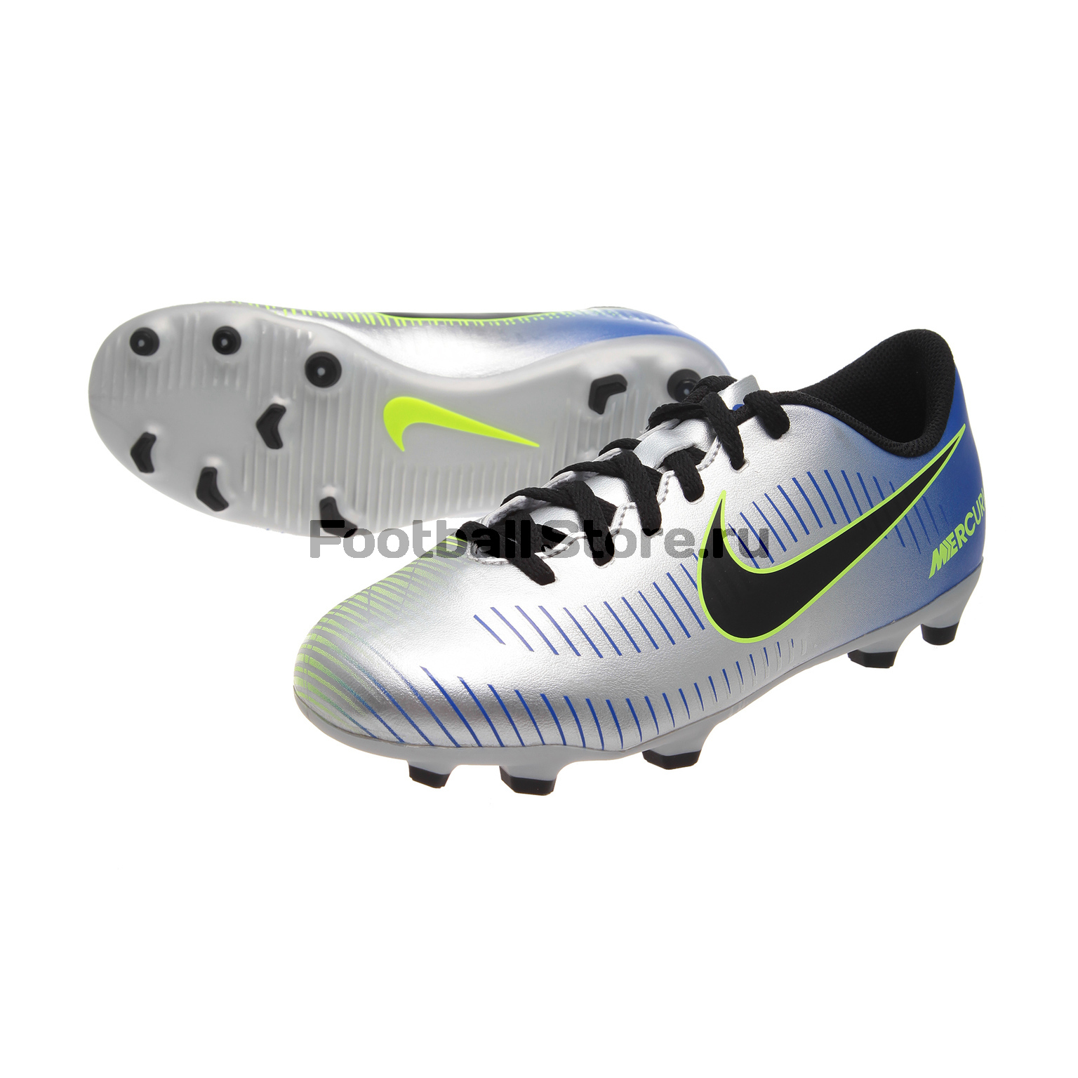 Бутсы Nike JR Mercurial Vortex III NJR FG 921490-407 детские бутсы nike бутсы nike jr phantom 3 elite df fg ah7292 081