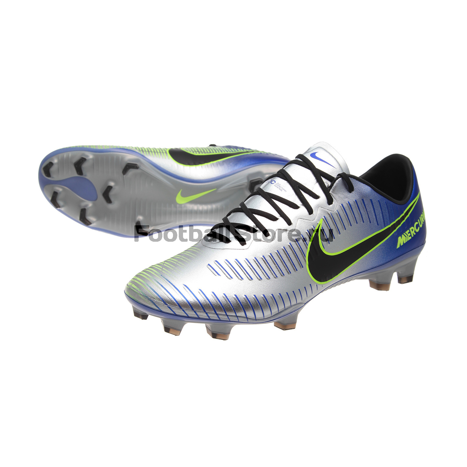 Игровые бутсы Nike Бутсы Nike Mercurial Vapor XI Neymar FG 921547-407 спортинвентарь nike чехол для iphone 6 на руку nike vapor flash arm band 2 0 n rn 50 078 os