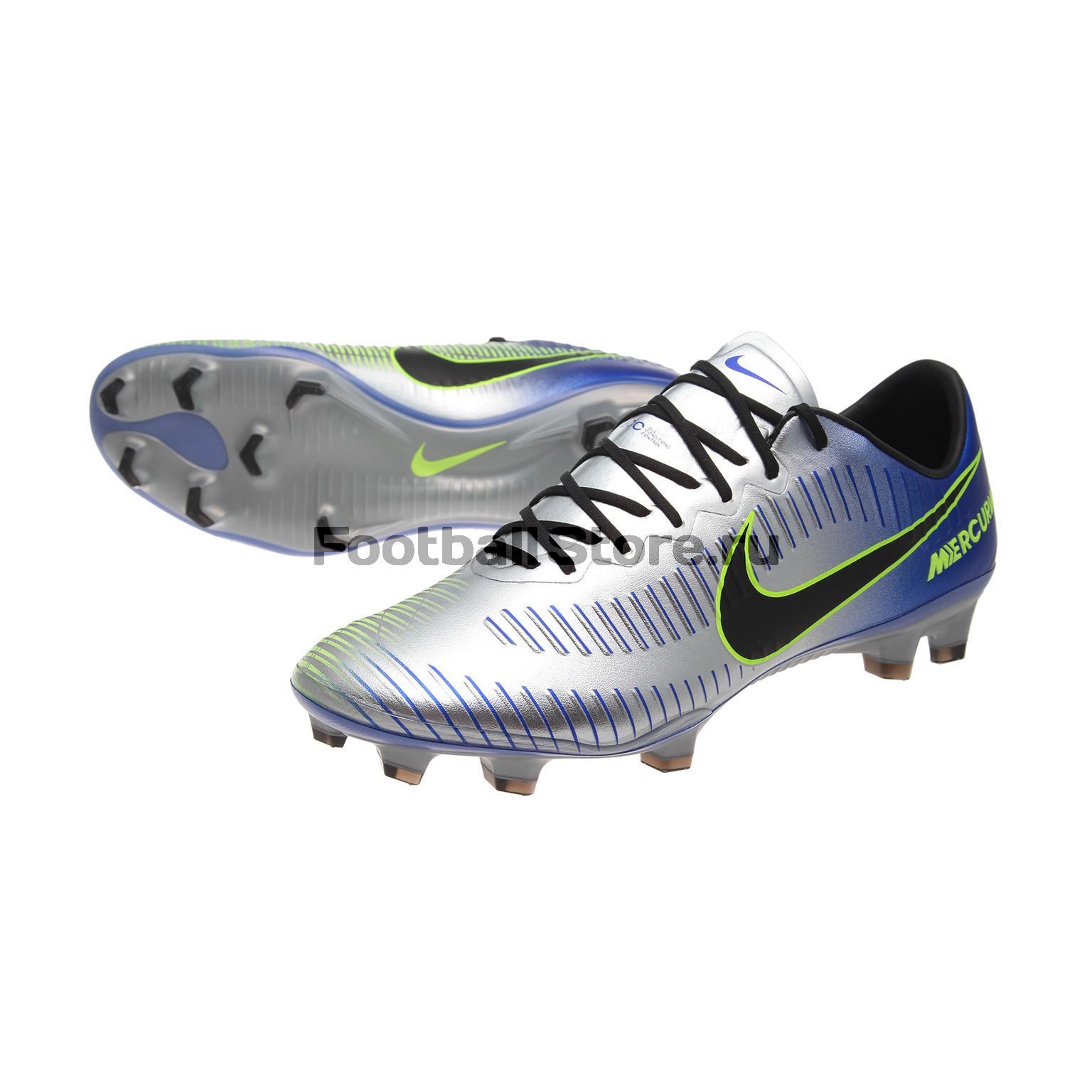 Игровые бутсы Nike Бутсы Nike Mercurial Vapor XI Neymar FG 921547-407 nike nike mercurial lite