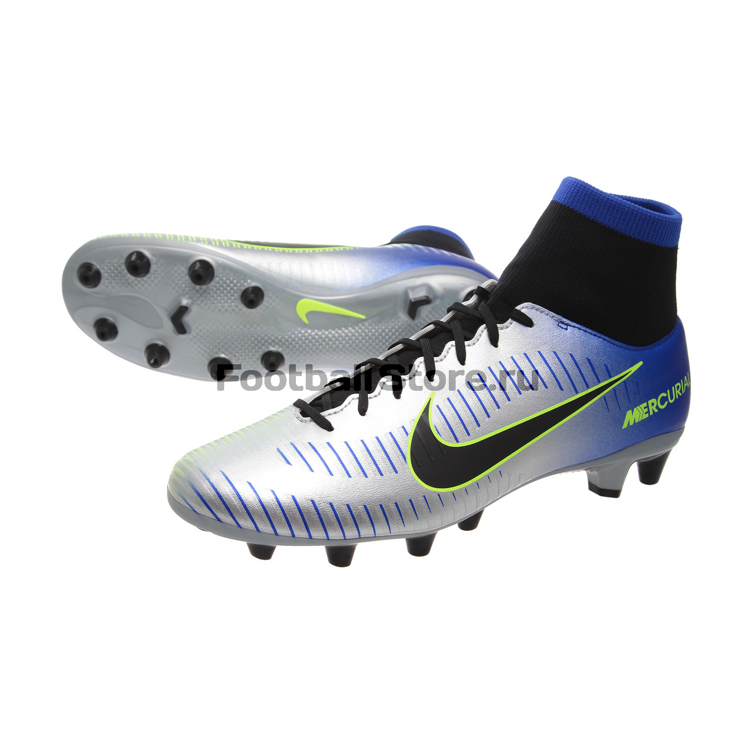 Бутсы Nike Mercurial Victory Neymar AG-Pro 921503-407 бутсы футбольные nike mercurial victory vi njr fg 921488 407 jr детские