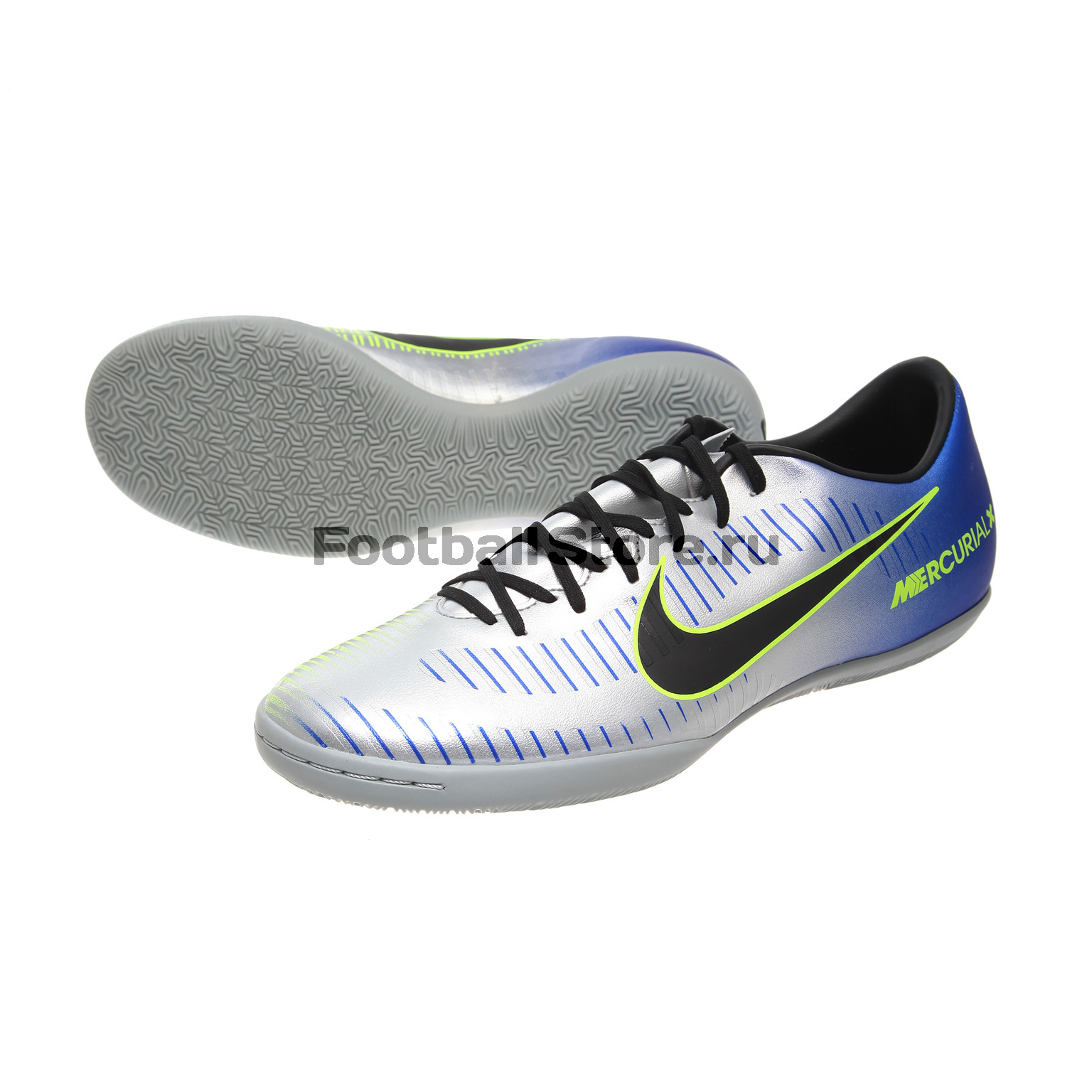 Обувь зала Nike Mercurial X Victory VI Neymar IC 921516-407 бутсы футбольные nike mercurial victory vi njr fg 921488 407 jr детские