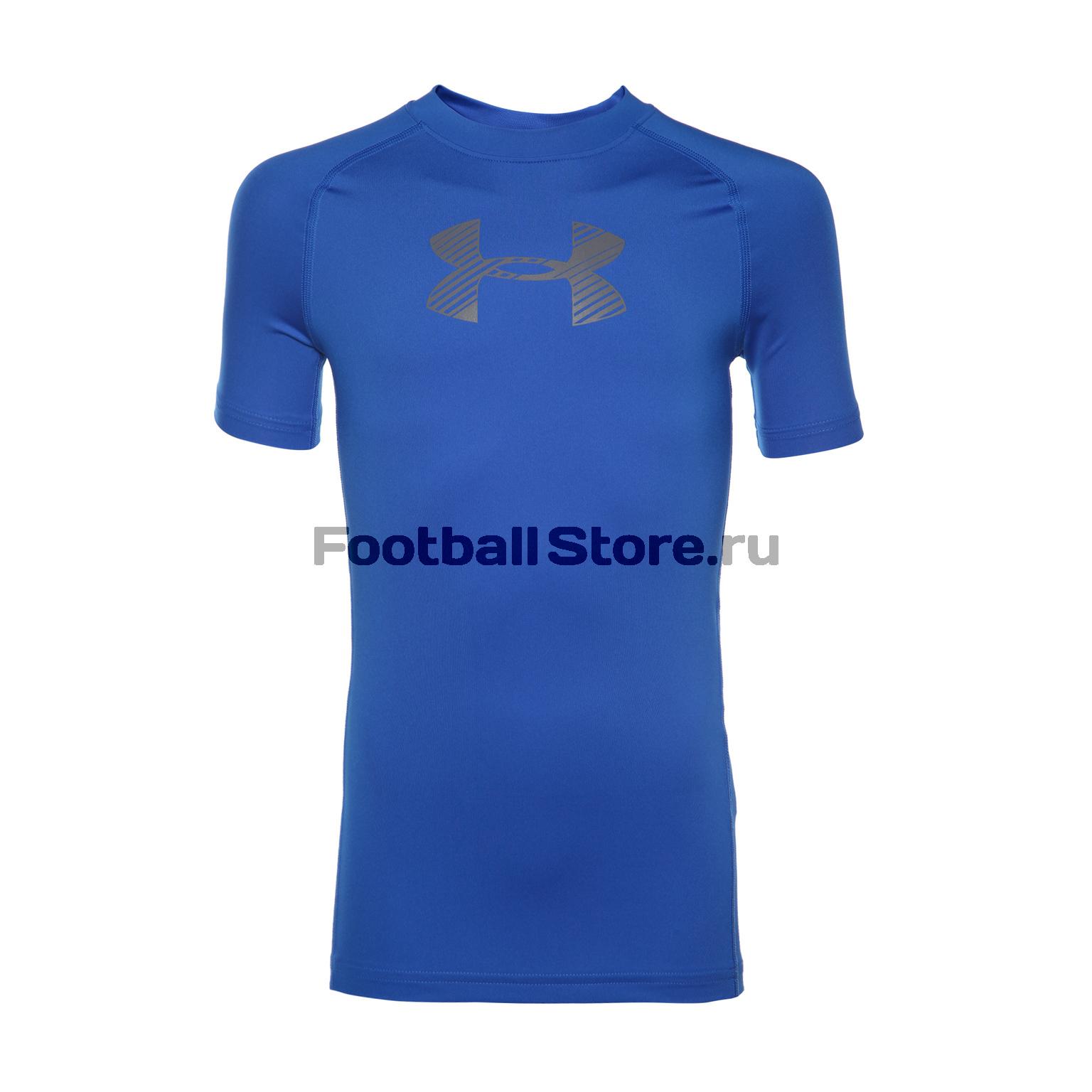 Белье футболка подростковая Under Armour SS 1289957-907