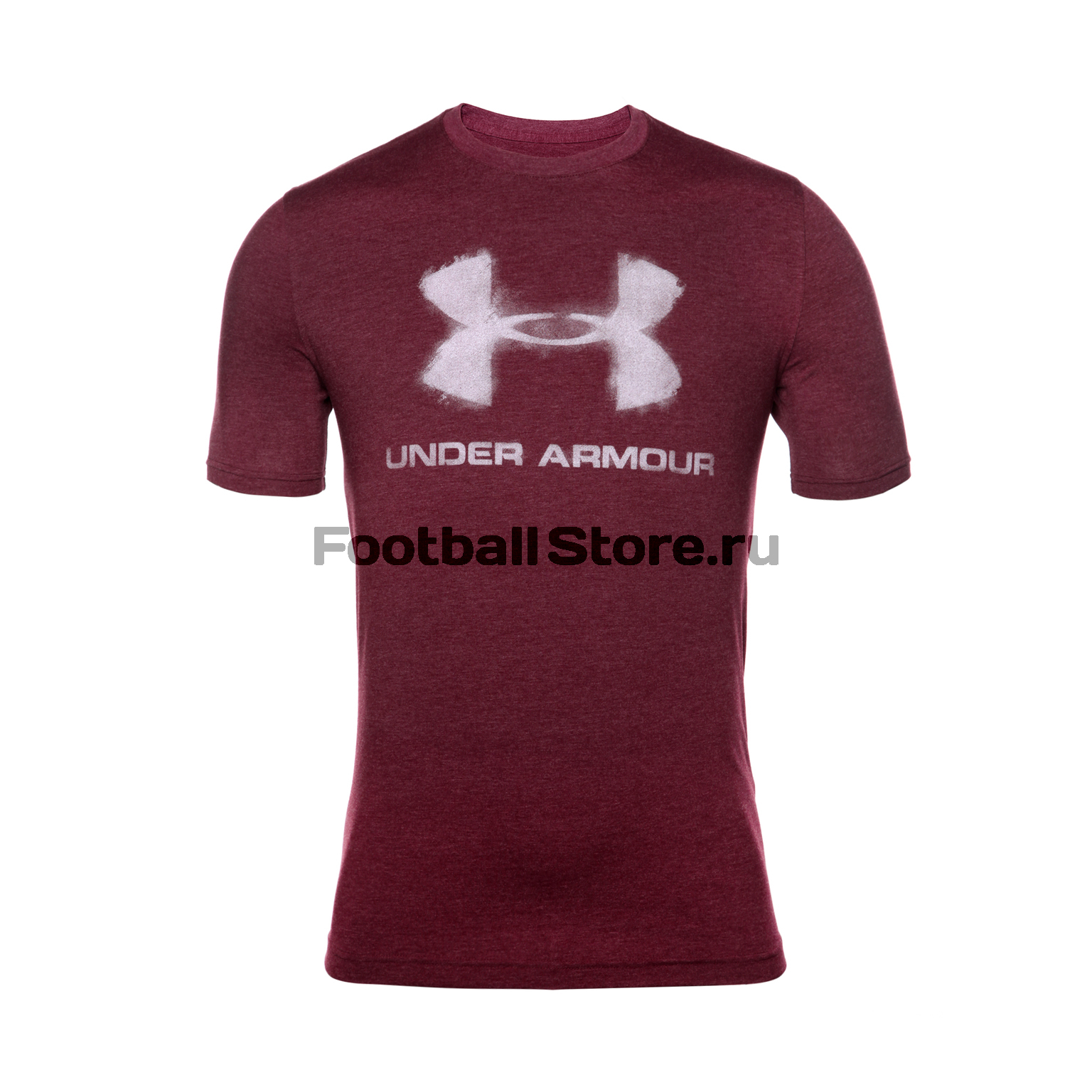 Футболки Under Armour Футболка Under Armour Chalked Sportstyle Logo SS 1289891-609 лонгслив спортивный under armour under armour un001emtvj76