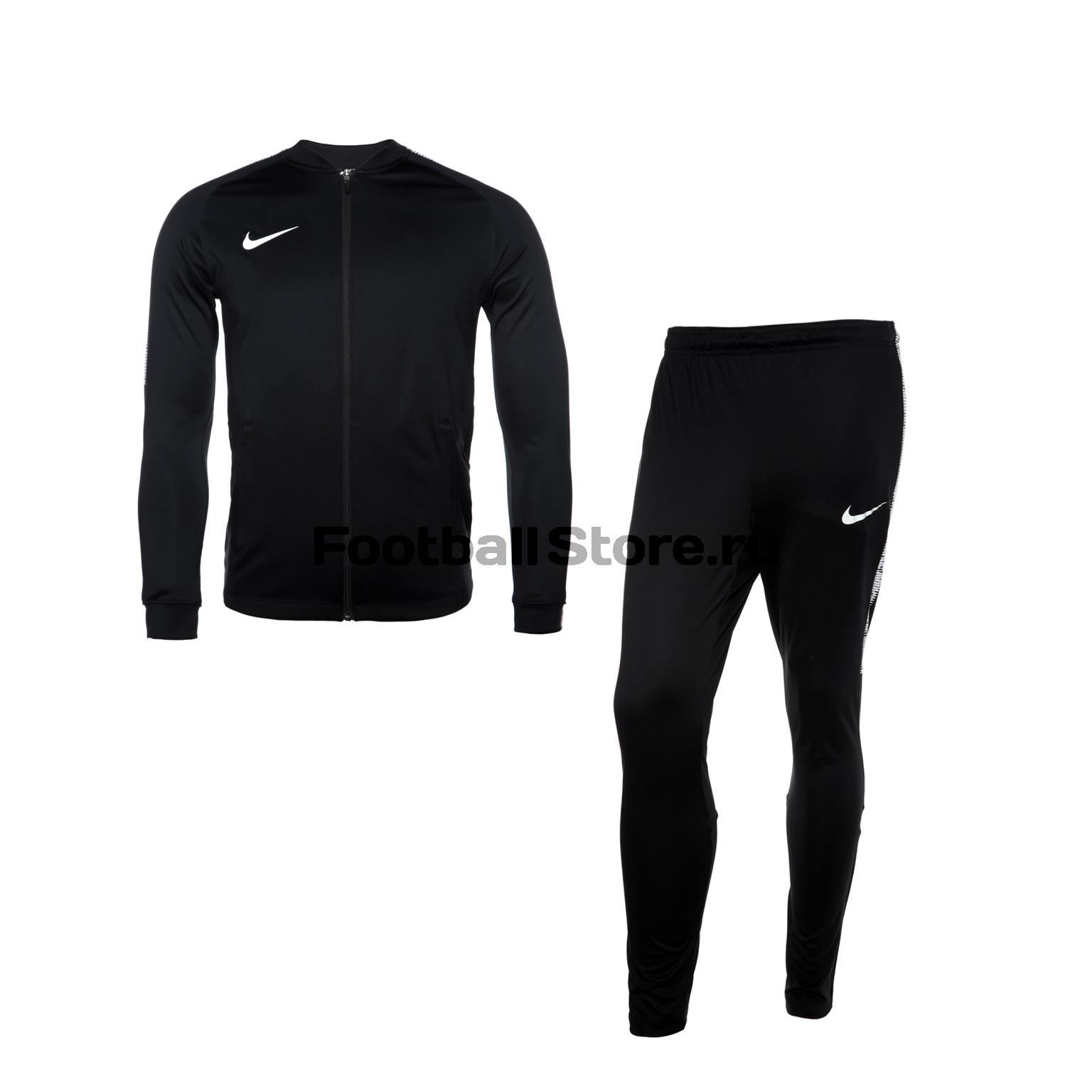Костюм спортивный Nike Squad 859281-010 одежда для гольфа nike 639790 101 010 089 639790