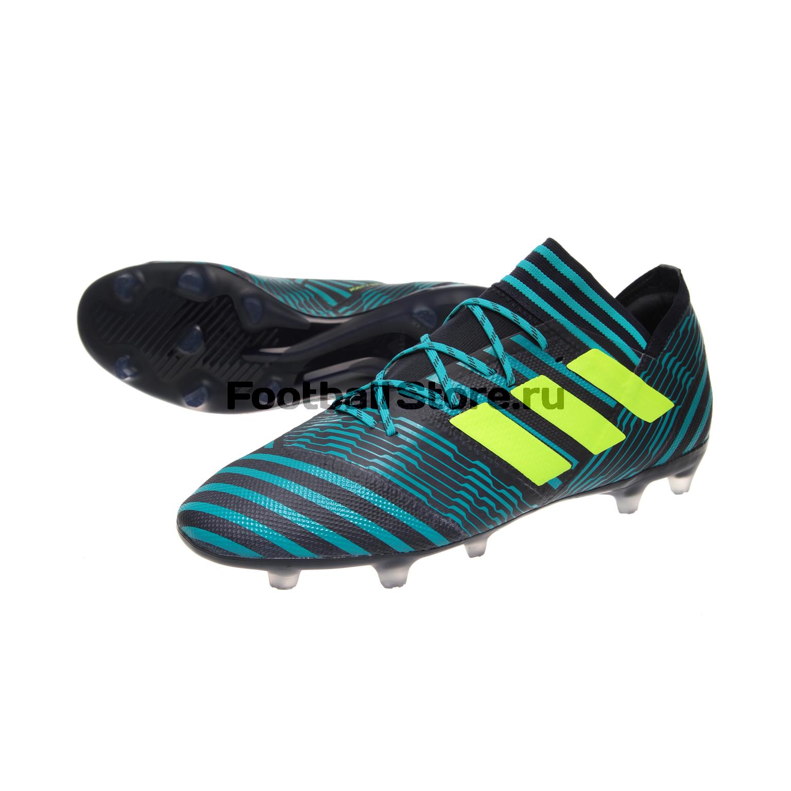 Бутсы Adidas Nemeziz 17.2 FG S80595 игровые бутсы adidas бутсы adidas ace 17 1 fg by2459