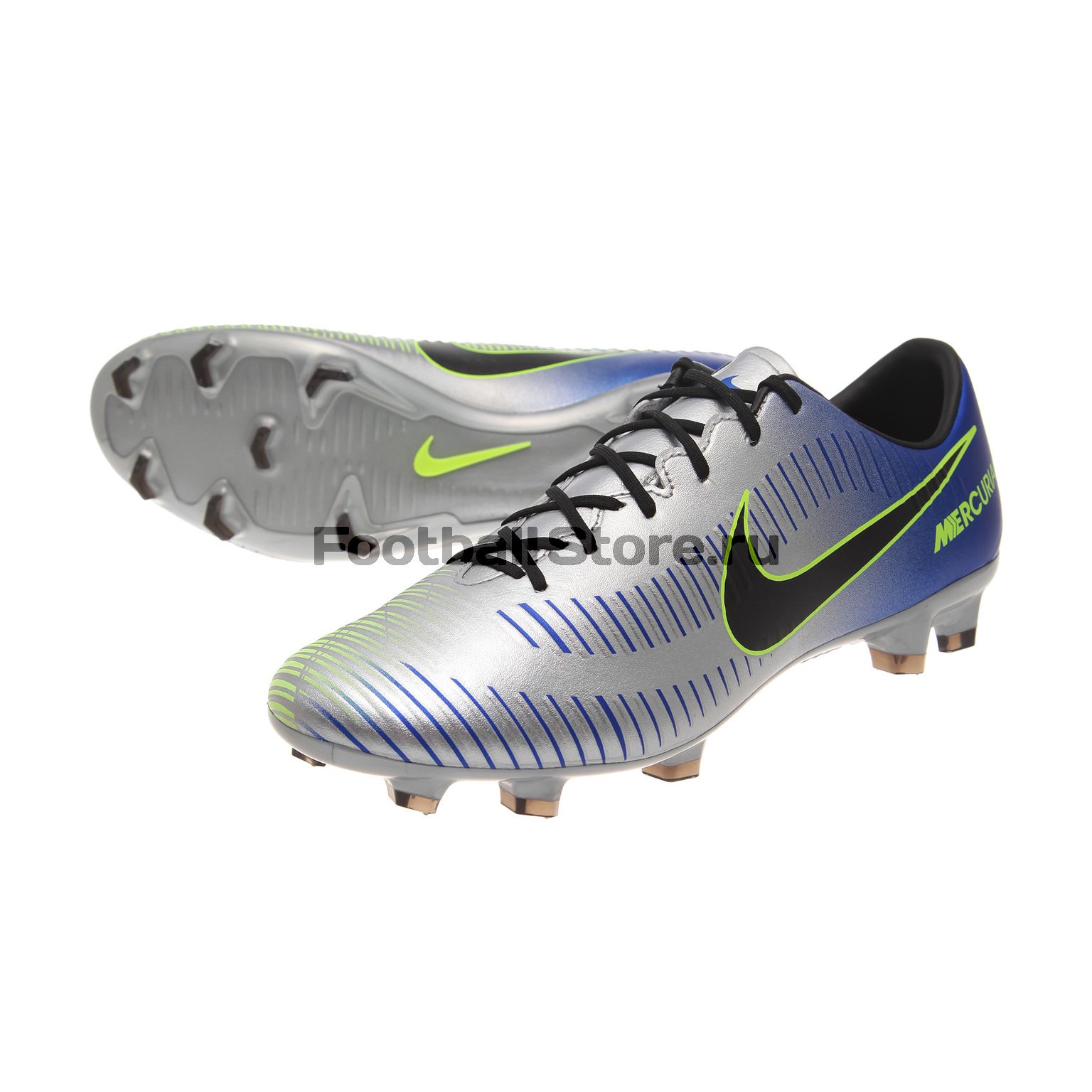 Бутсы Nike Mercurial Veloce III Neymar FG 921505-407 бутсы футбольные nike mercurial victory vi njr fg 921488 407 jr детские