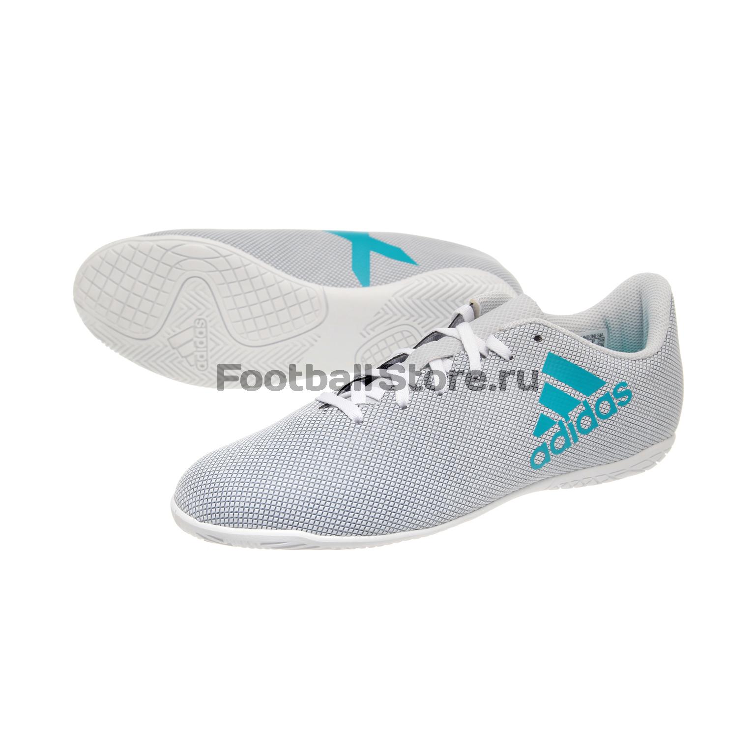 Обувь для зала Adidas X 17.4 IN JR S82408 обувь для зала adidas ace tango 18 3 in jr cp9075