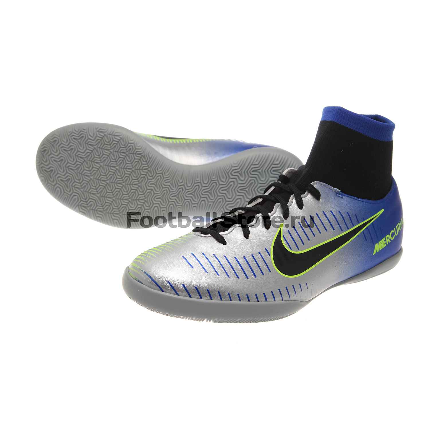 Обувь для зала Nike JR MercurialX Victory 6 DF Neymar IC 921491-407 бутсы nike бутсы jr mercurialx vapor xi ic