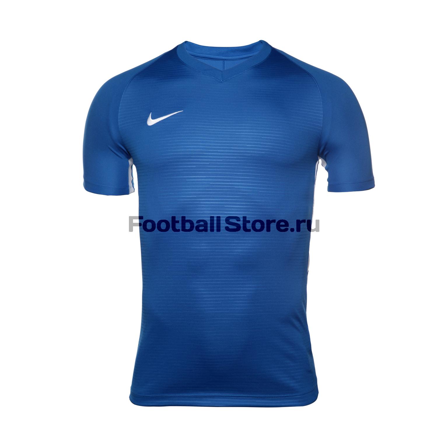 Футболка игровая Nike Dry Tiempo Prem JSY SS 894230-463 nike футболка zenit ss h a stadium jsy