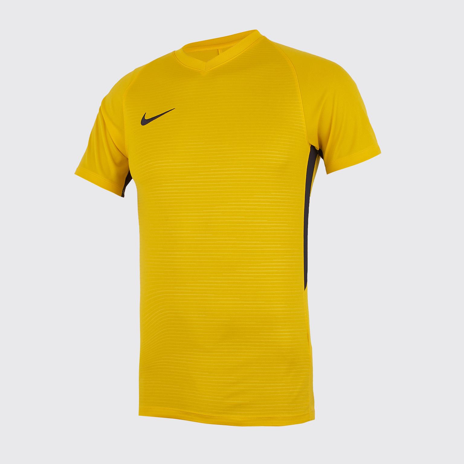 Футболка игровая Nike Dry Tiempo Prem JSY SS 894230-739 футболка игровая nike dry tiempo prem jsy ss 894230 662