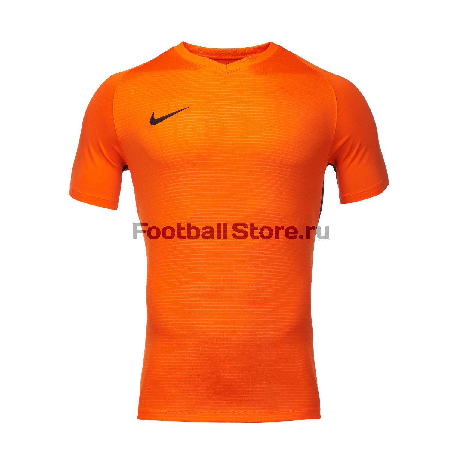 Футболка игровая Nike Dry Tiempo Prem JSY SS 894230-815 nike футболка zenit ss h a stadium jsy