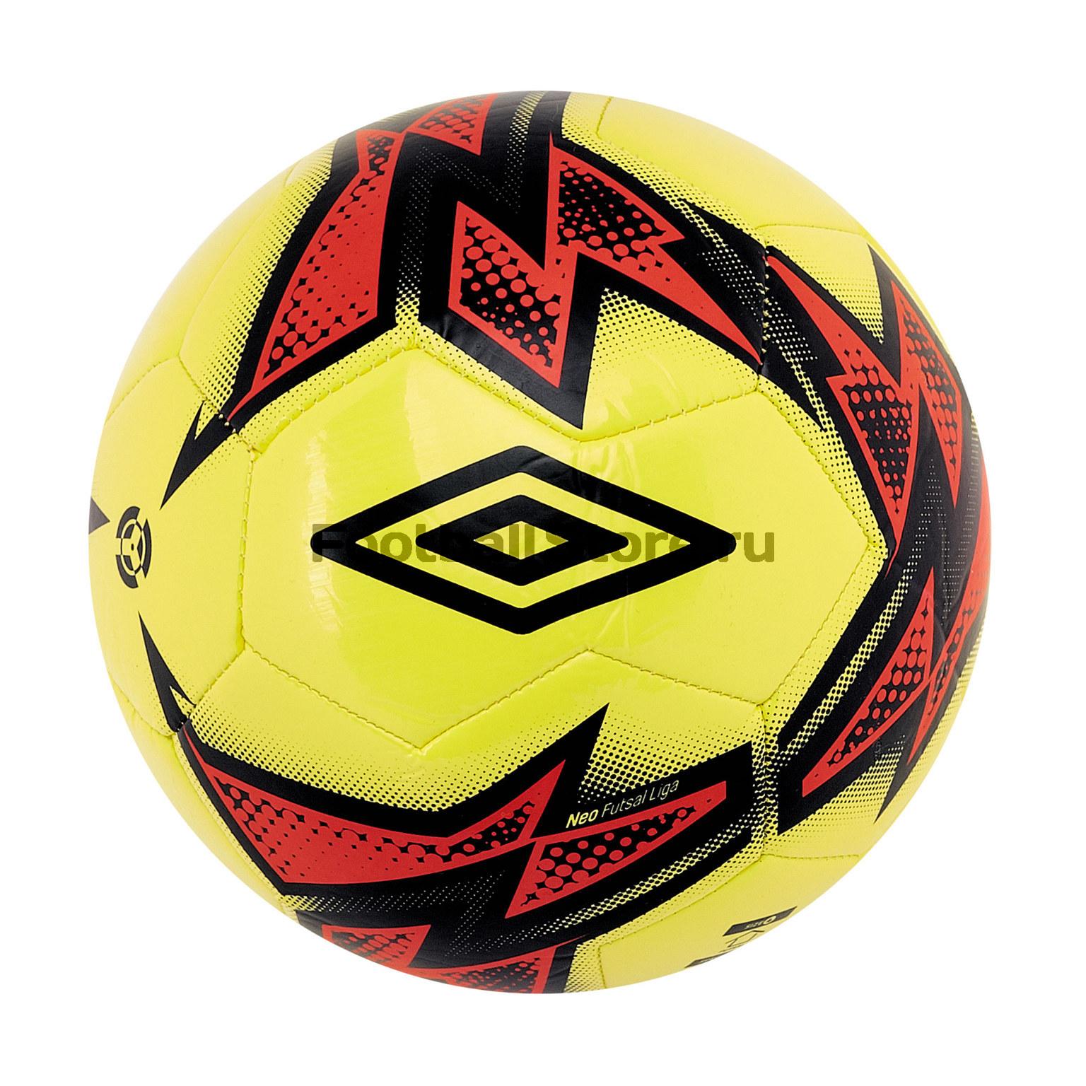 Футзальный мяч Umbro Neo Liga 20871U мяч футзальный любительский р 4 umbro neo futsal liga 20871u fcy