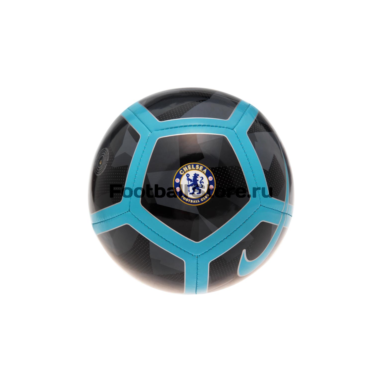 Футбольный мяч сувенирный Nike Chelsea SC3265-060 chelsea nike перчатки тренировочные nike chelsea gs0353 060
