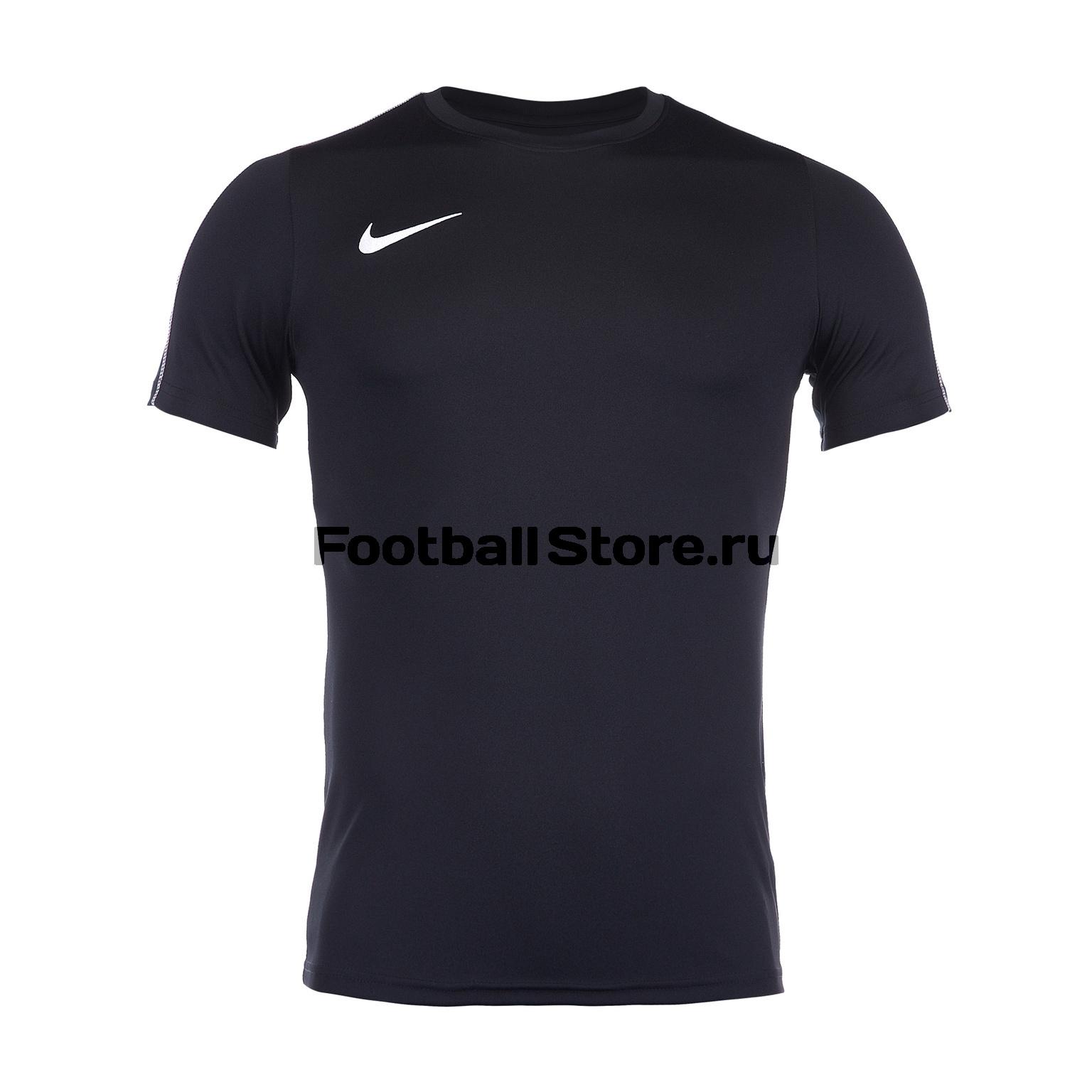 Футболка тренировочная Nike Dry Park18 SS Top AA2046-010 футболка игровая nike dry tiempo prem jsy ss 894230 411