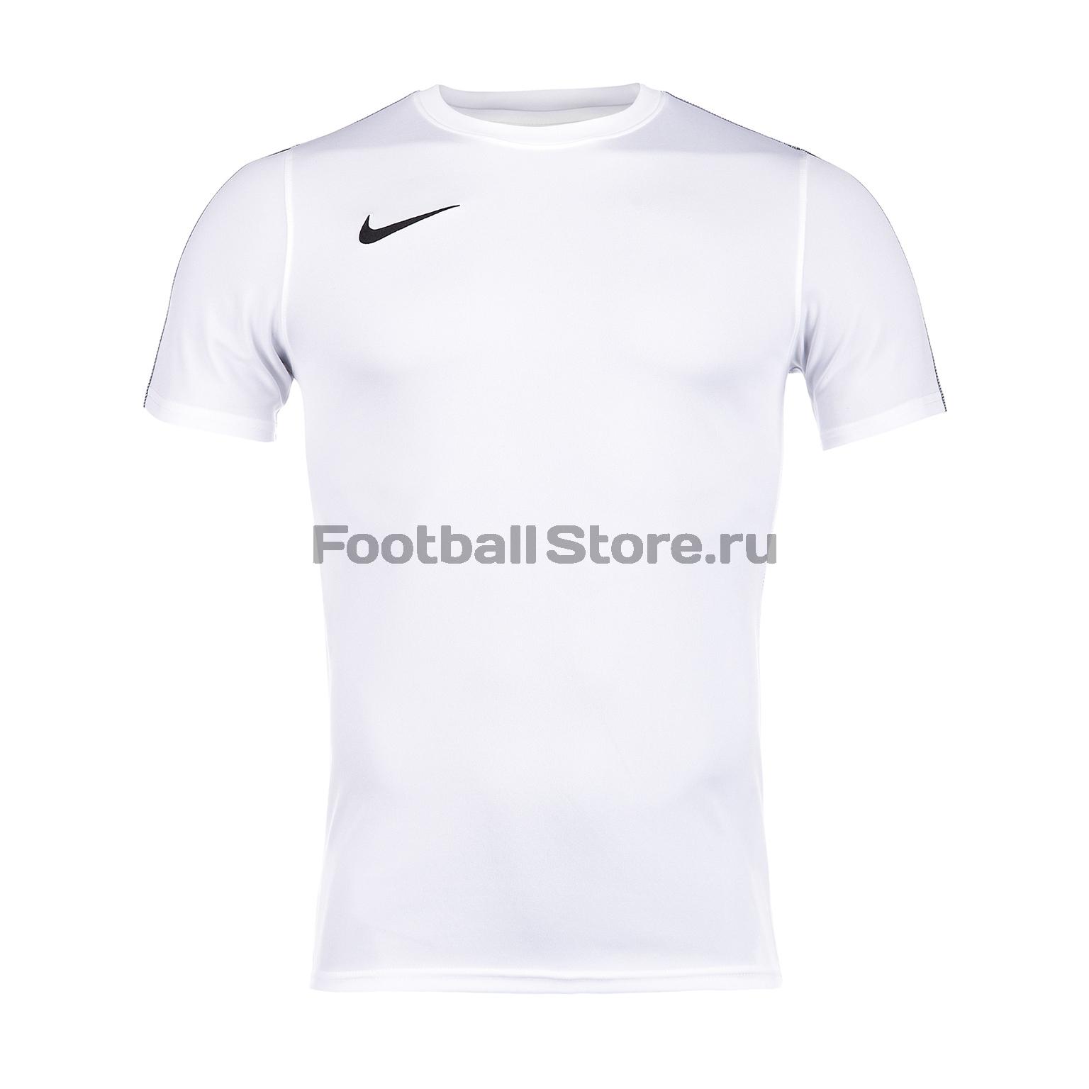 Футболка тренировочная Nike Park18 SS AA2046-100 футболка игровая nike dry tiempo prem jsy ss 894230 411