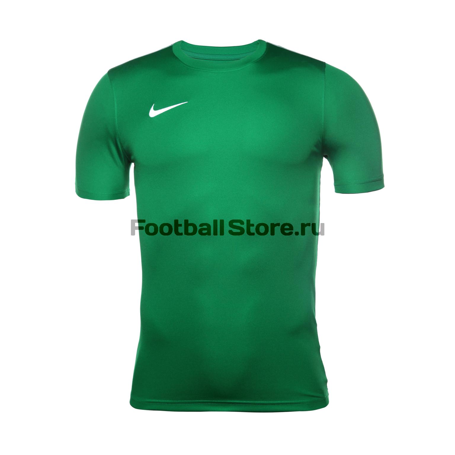 Футболка тренировочная Nike Dry Park18 SS Top AA2046-302 футболка игровая nike dry tiempo prem jsy ss 894230 411