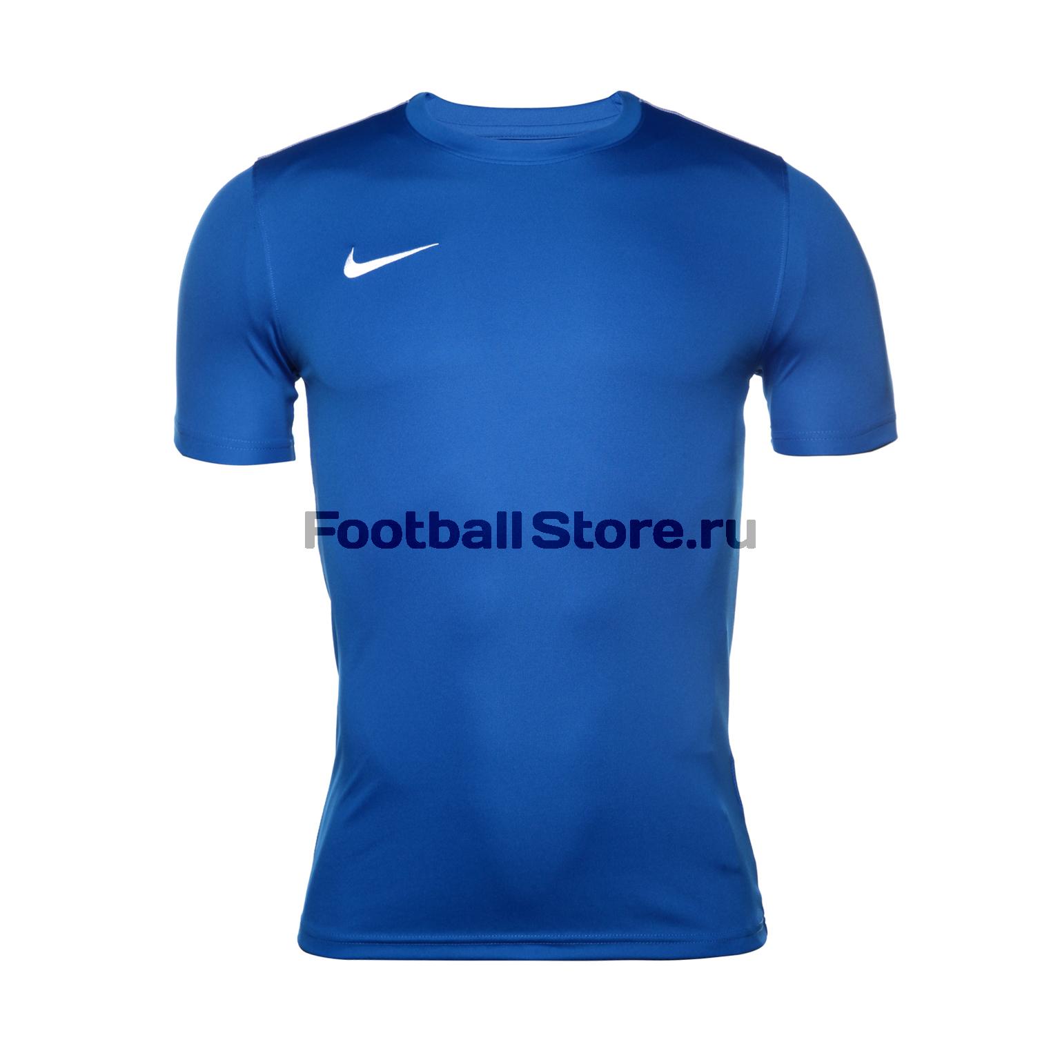 Футболка тренировочная Nike Dry Park18 SS Top AA2046-463 футболка игровая nike dry tiempo prem jsy ss 894230 411