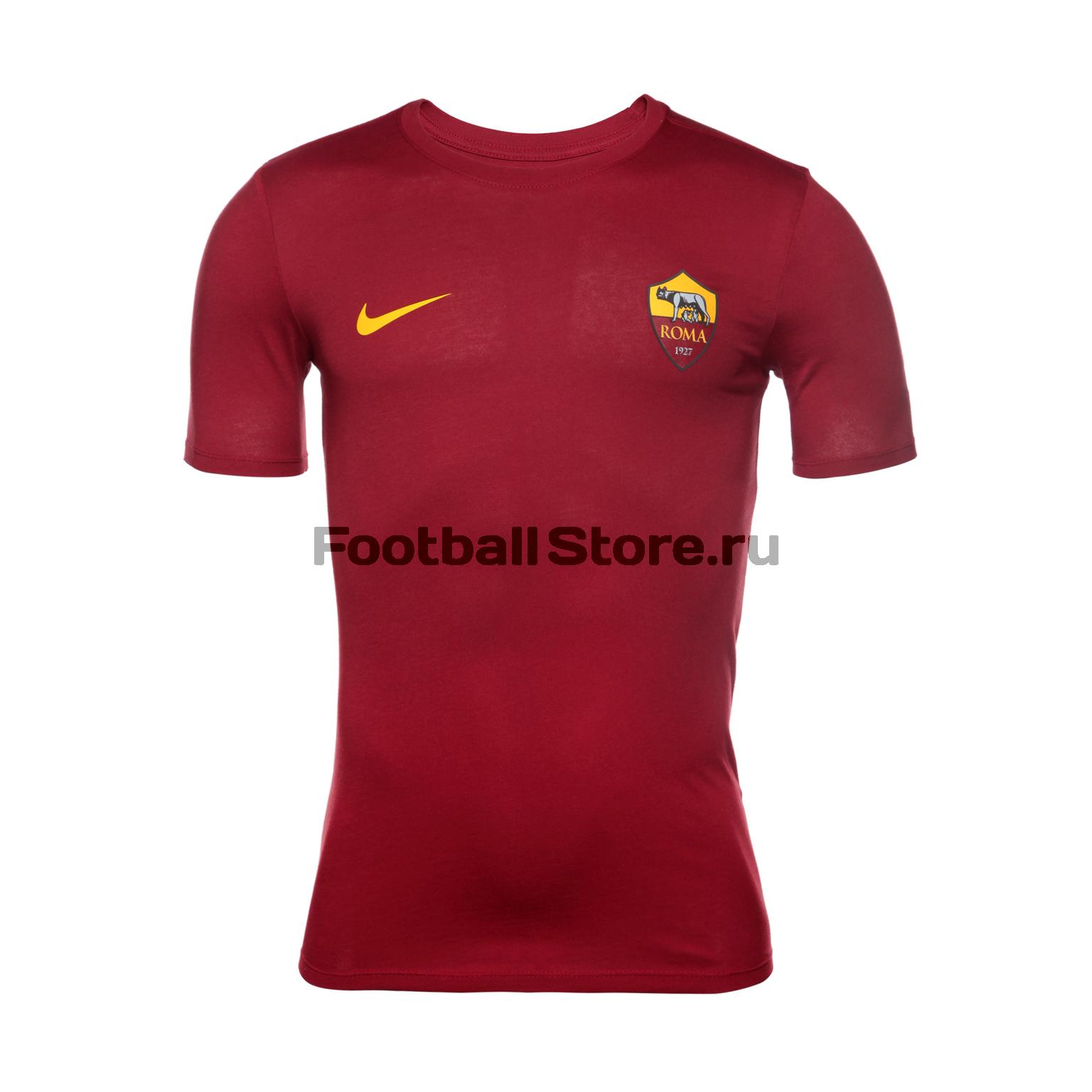 Roma Nike Футболка Nike Roma Tee Crest 888804-613 футболка jslv футболка life tee