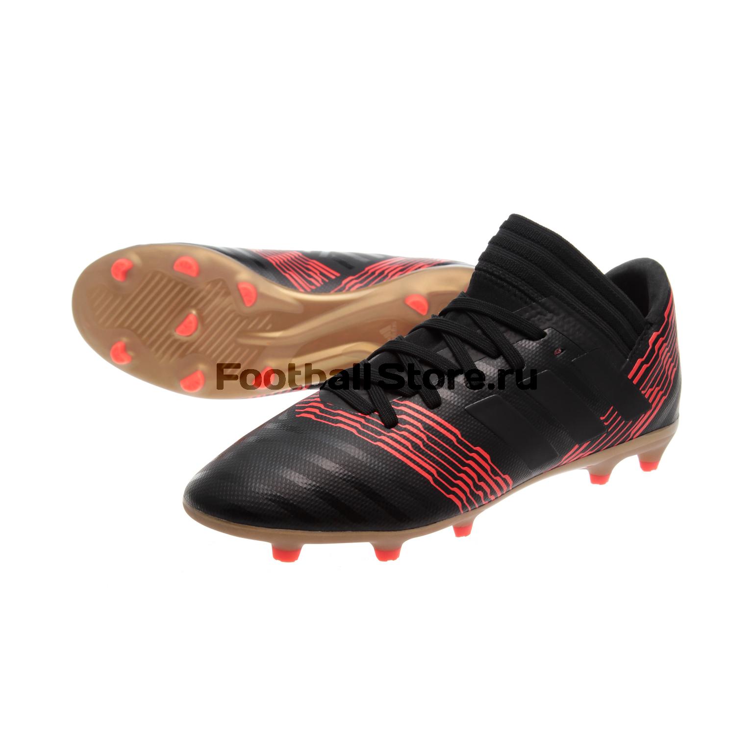Бутсы Adidas Nemeziz 17.3 FG JR CP9165 бутсы adidas бутсы