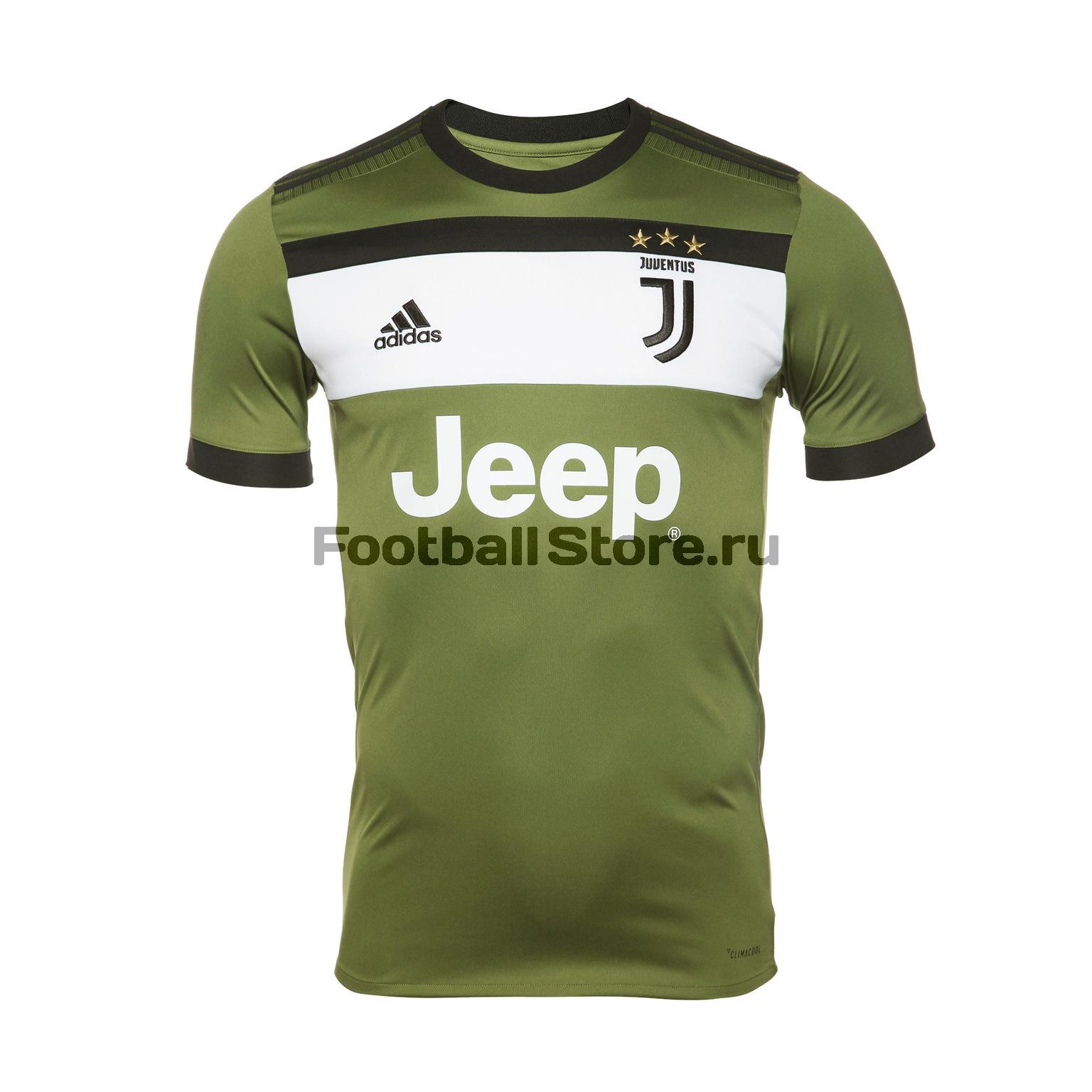 Футболка резервная игровая Adidas Juventus 2017/18 рюкзак adidas juventus cy5571