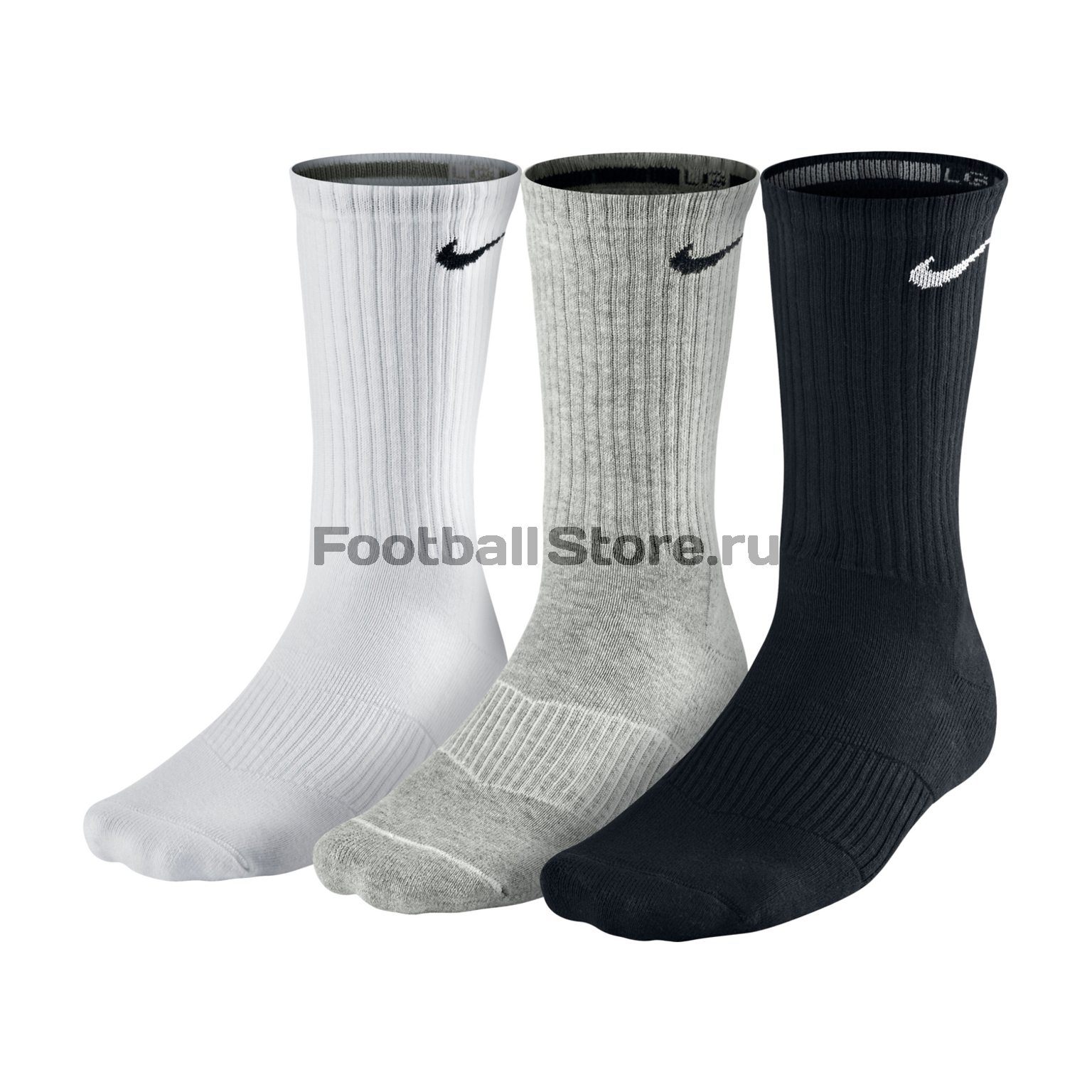 Комплект носков Nike 3ppk cushion crew SX4700-901 комплект носков nike 3ppk value cotton crew smlx sx4508 101