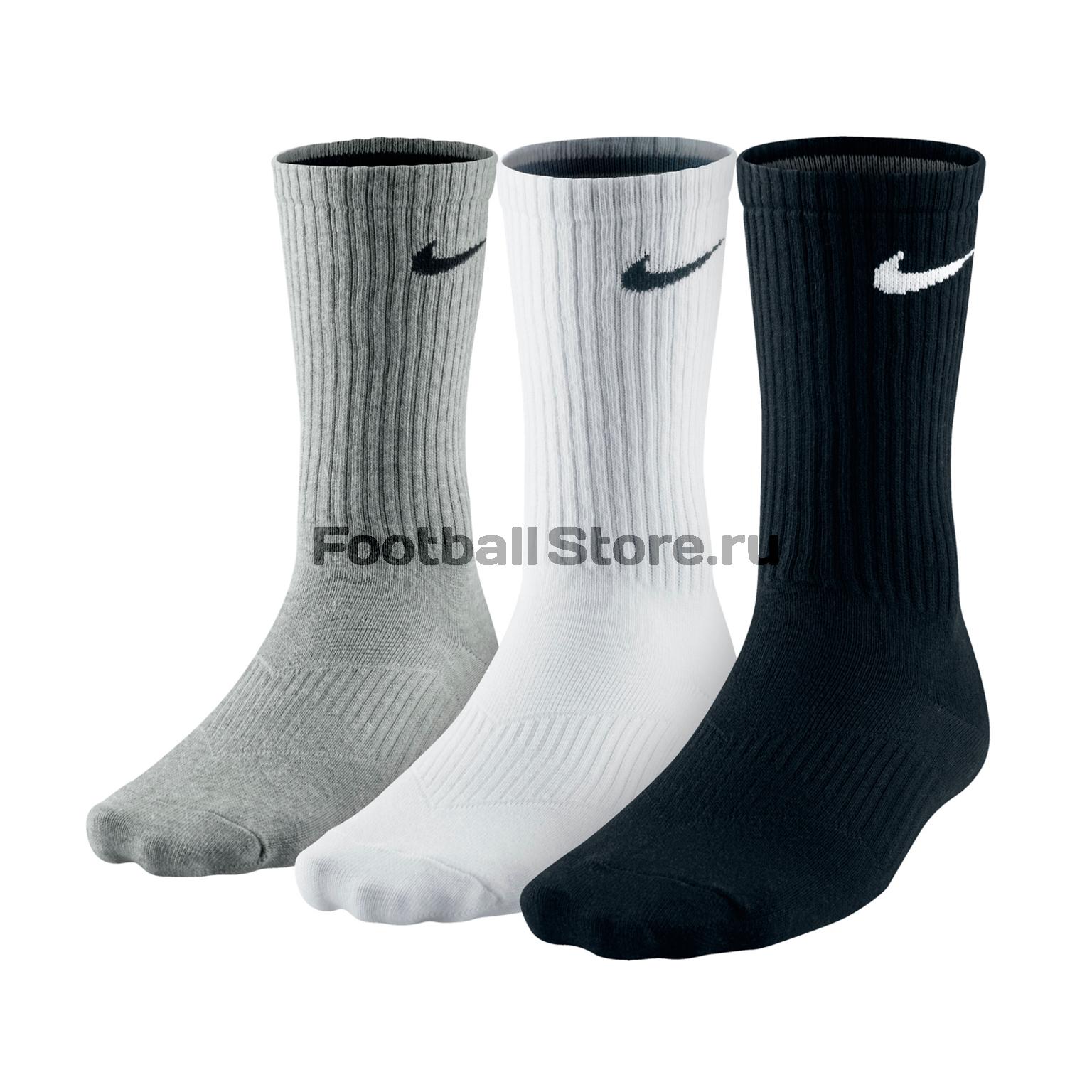 Комплект носков Nike 3ppk Lightweight Сrew SX4704-901 тонус эласт пояс послеоперационный 9901 р 5