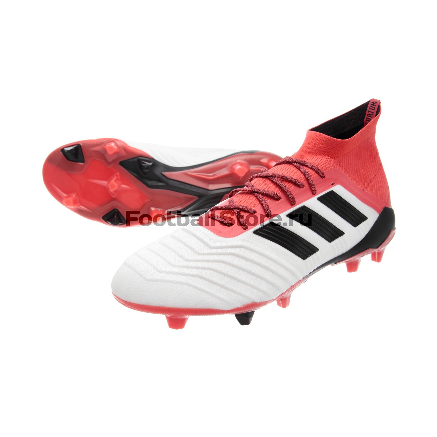 купить Игровые бутсы Adidas Бутсы Adidas Predator 18.1 FG CM7410 по цене 15990 рублей