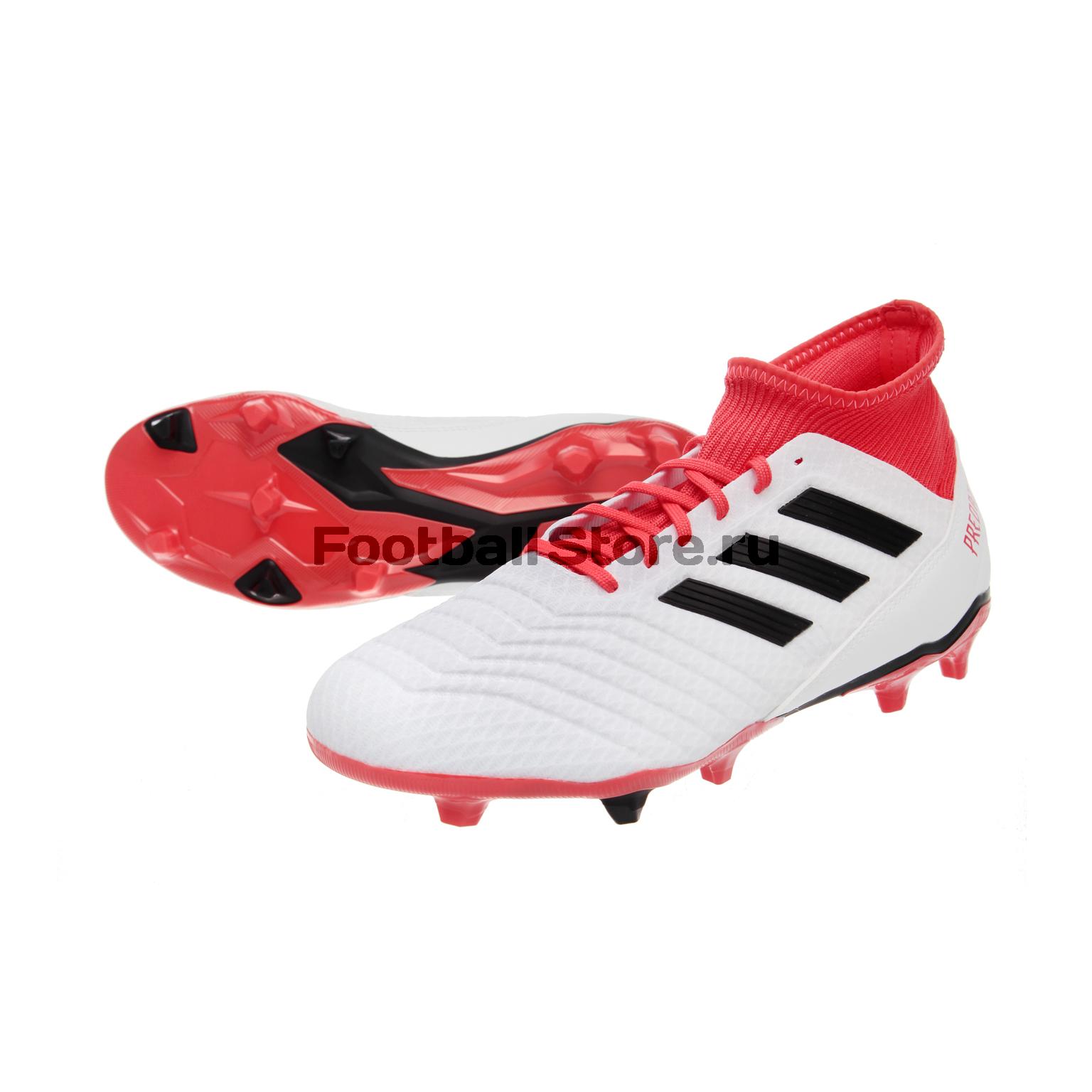 Бутсы Adidas Predator 18.3 FG CM7667 adidas predator junior gk glove
