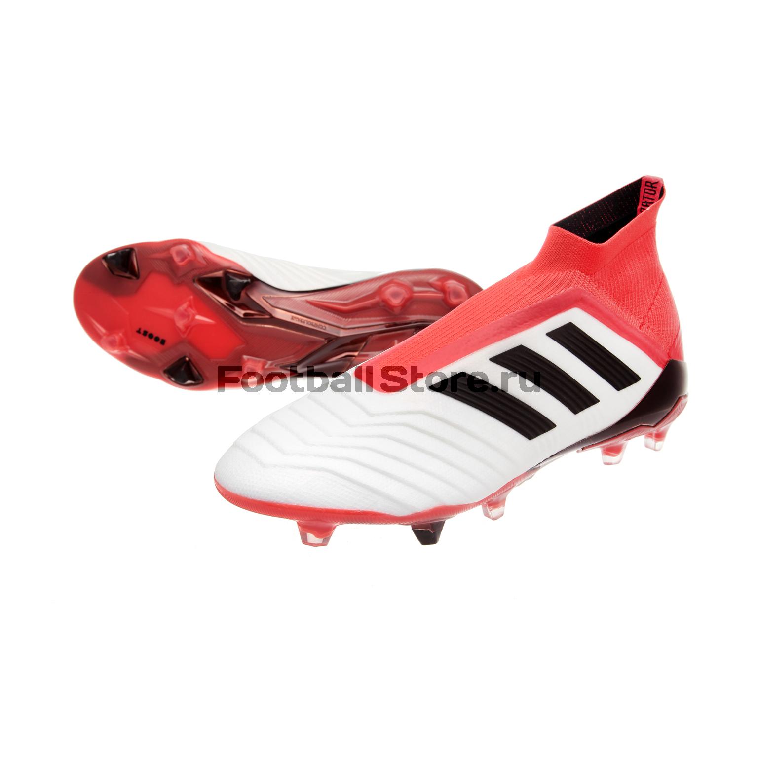 купить Игровые бутсы Adidas Бутсы Adidas Predator 18+ FG CM7391 по цене 21990 рублей