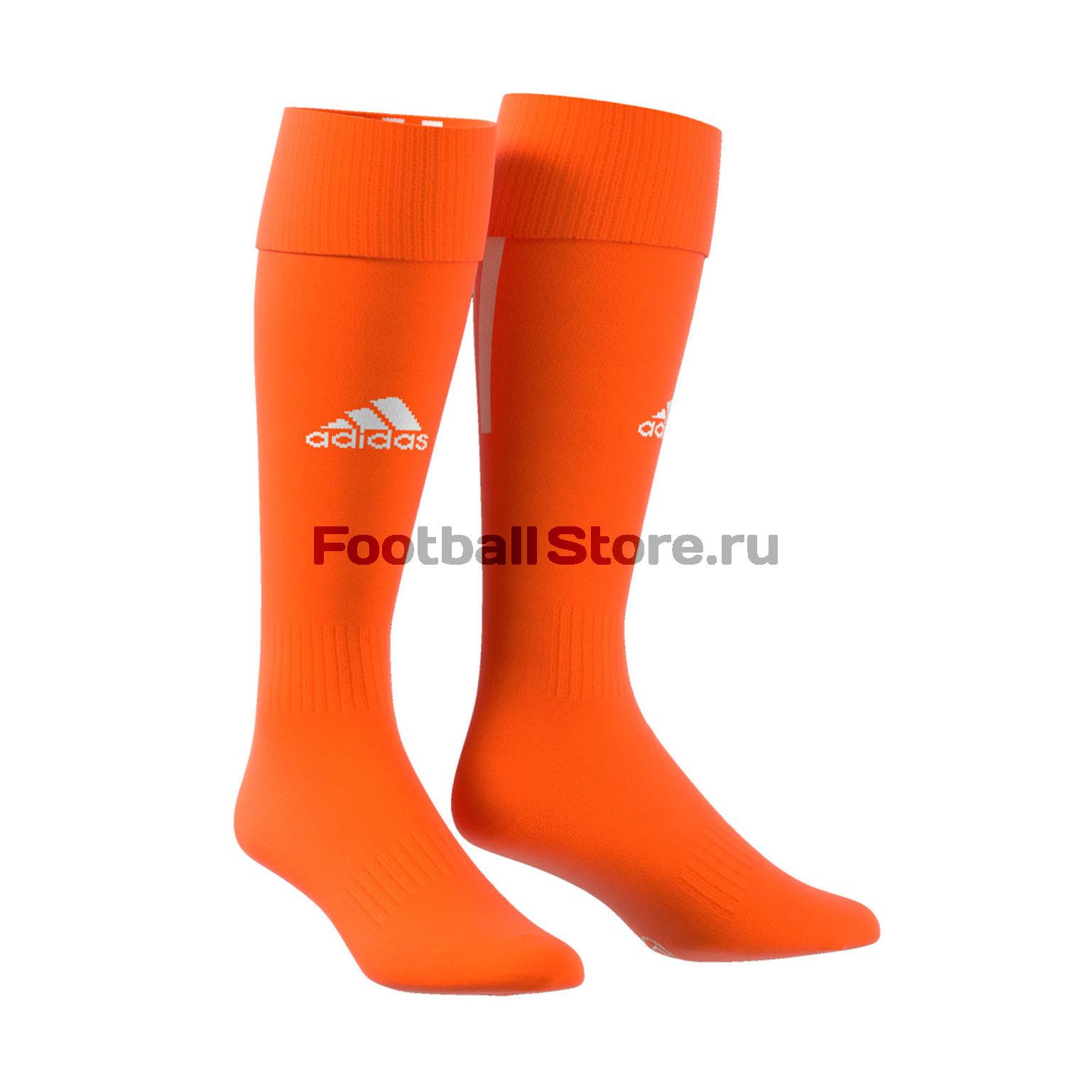 Гетры Adidas Santos Sock 18 CV8105 гетры футбольные adidas santos sock 18 цвет красный cv8096 размер 40 42
