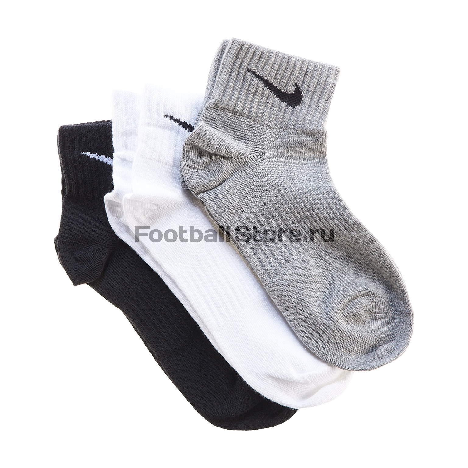 Комплект носков Nike 3ppk lightweight quarter комплект носков nike 3ppk value cotton crew smlx sx4508 101