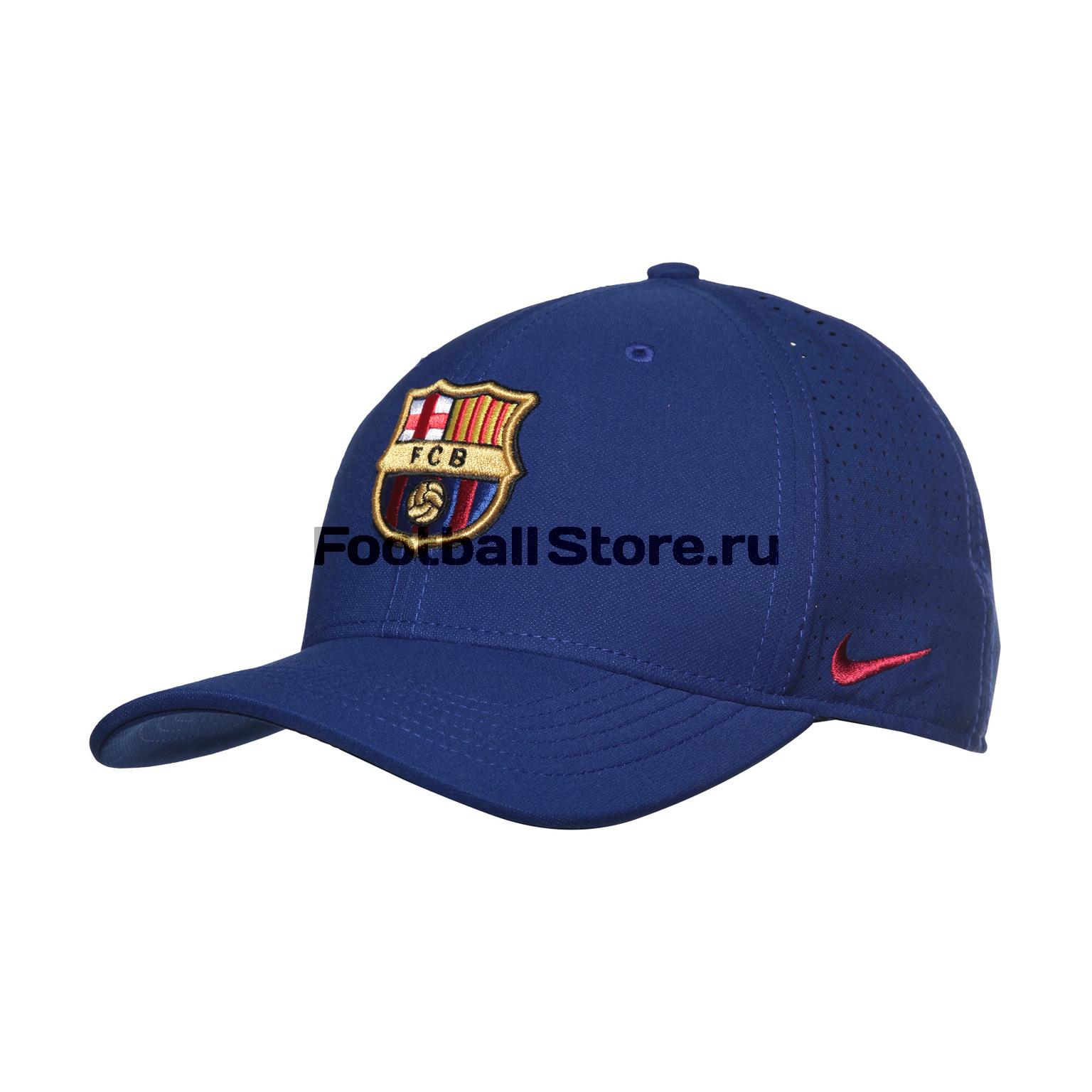Бейсболка Nike Barcelona Arobill CLC99 Cap 916570-455 barcelona nike брюки тренировочные nike barcelona aa1935 036