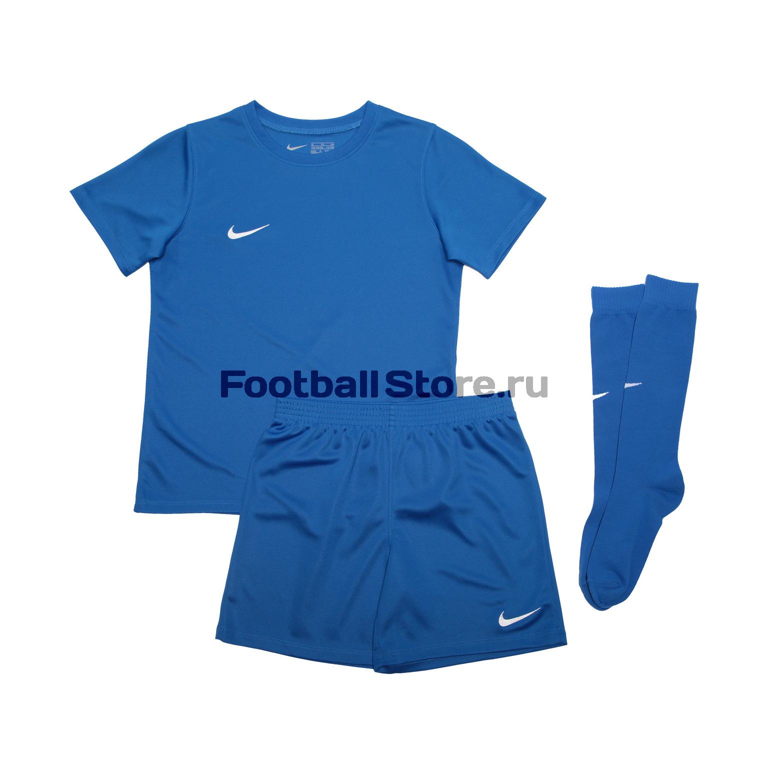 Комплект детской формы Nike Dry Park Kit Set AH5487-463 цена и фото