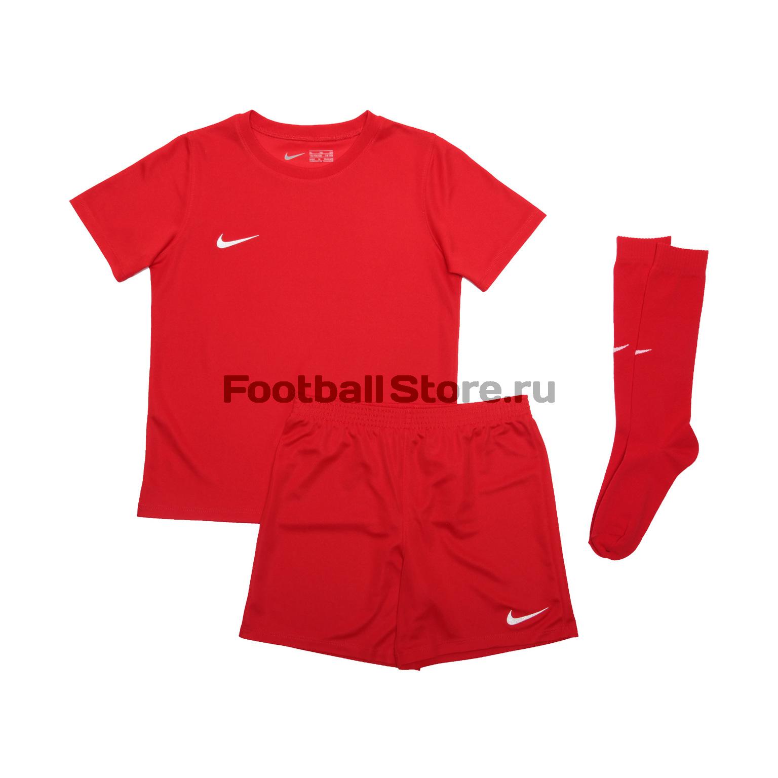 Комплект детской формы Nike Dry Park Kit Set AH5487-657 цена и фото