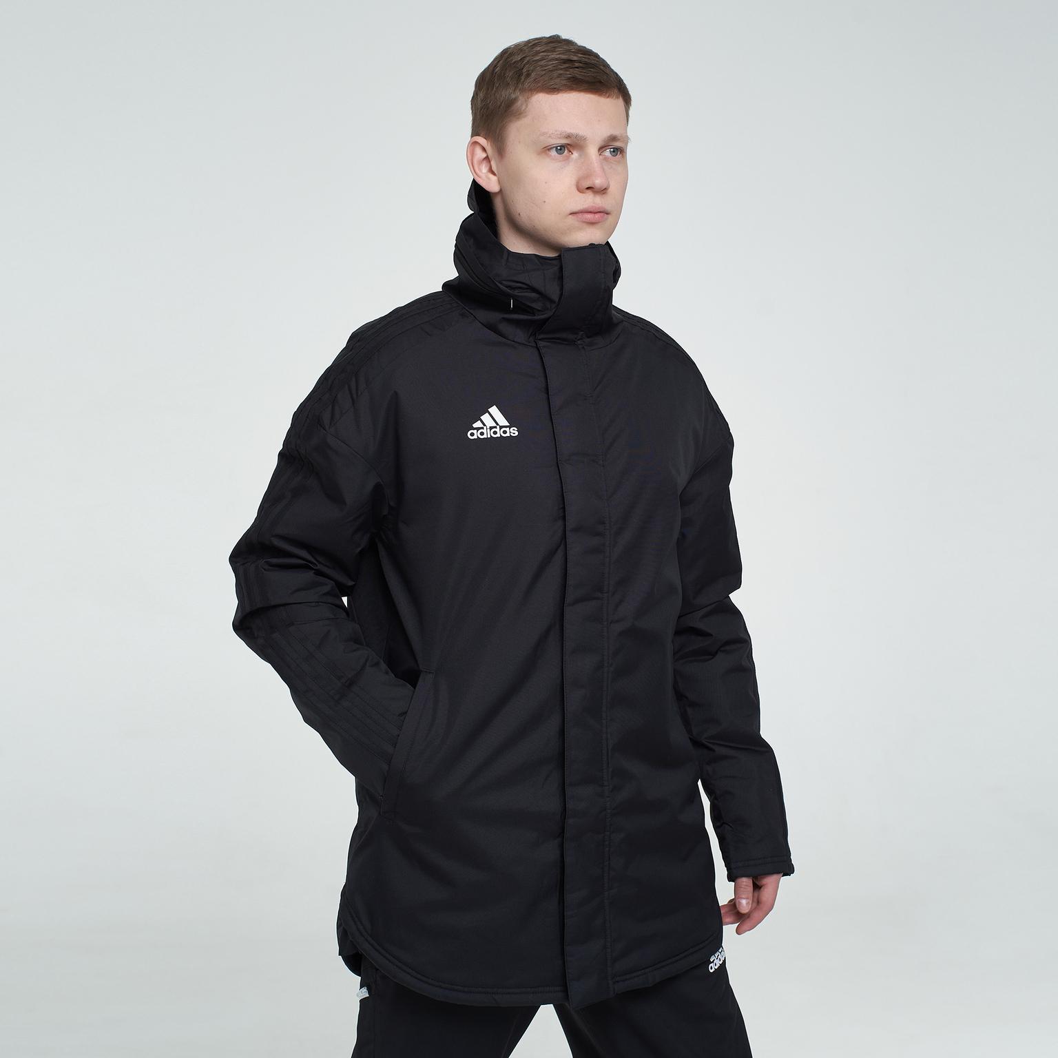 Куртка утепленная Adidas JKT18 STD Parka BQ6594 куртки пуховики adidas куртка утепленная adidas con 16 std jkt ab3150